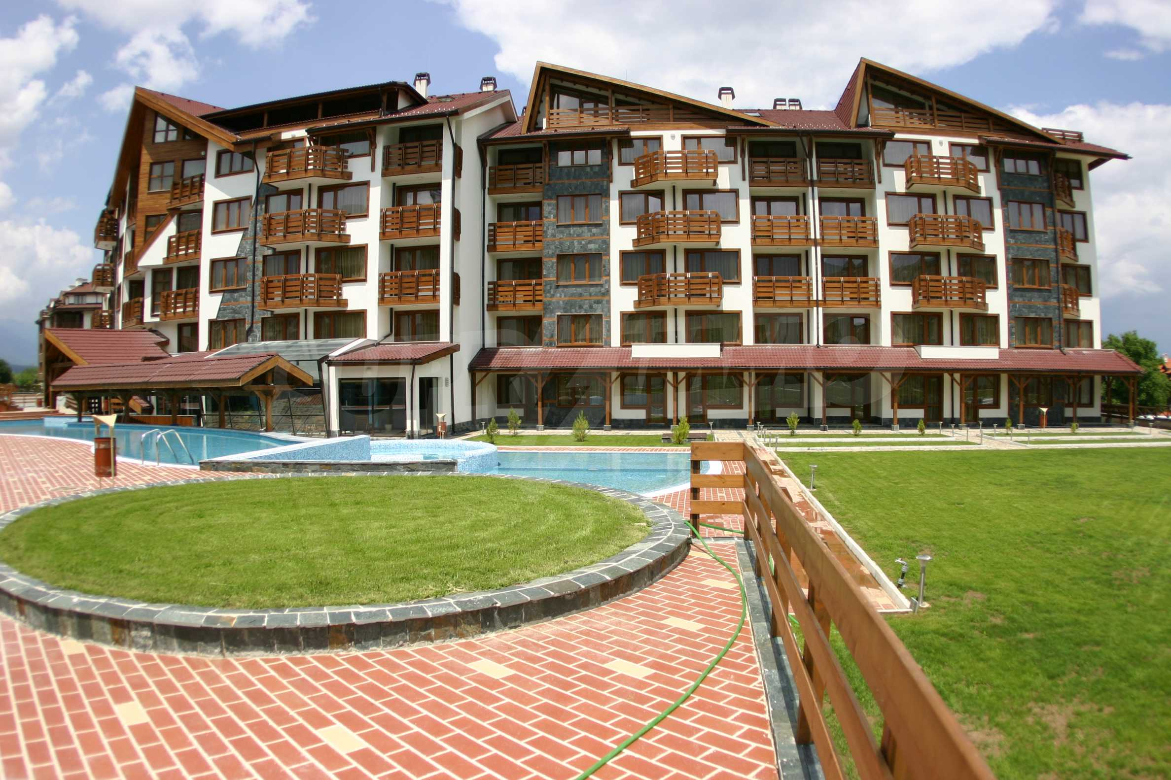 Studio for sale in the best gated complex in Bansko 10