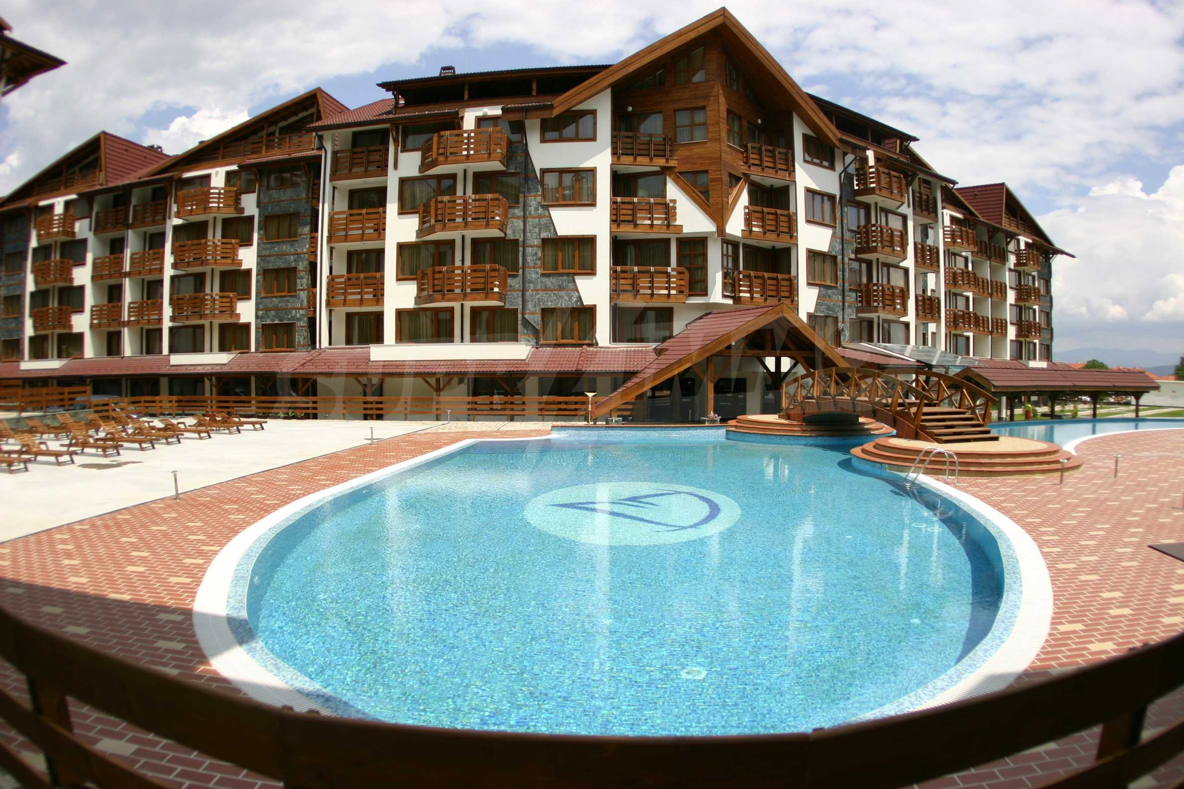 Studio for sale in the best gated complex in Bansko 11