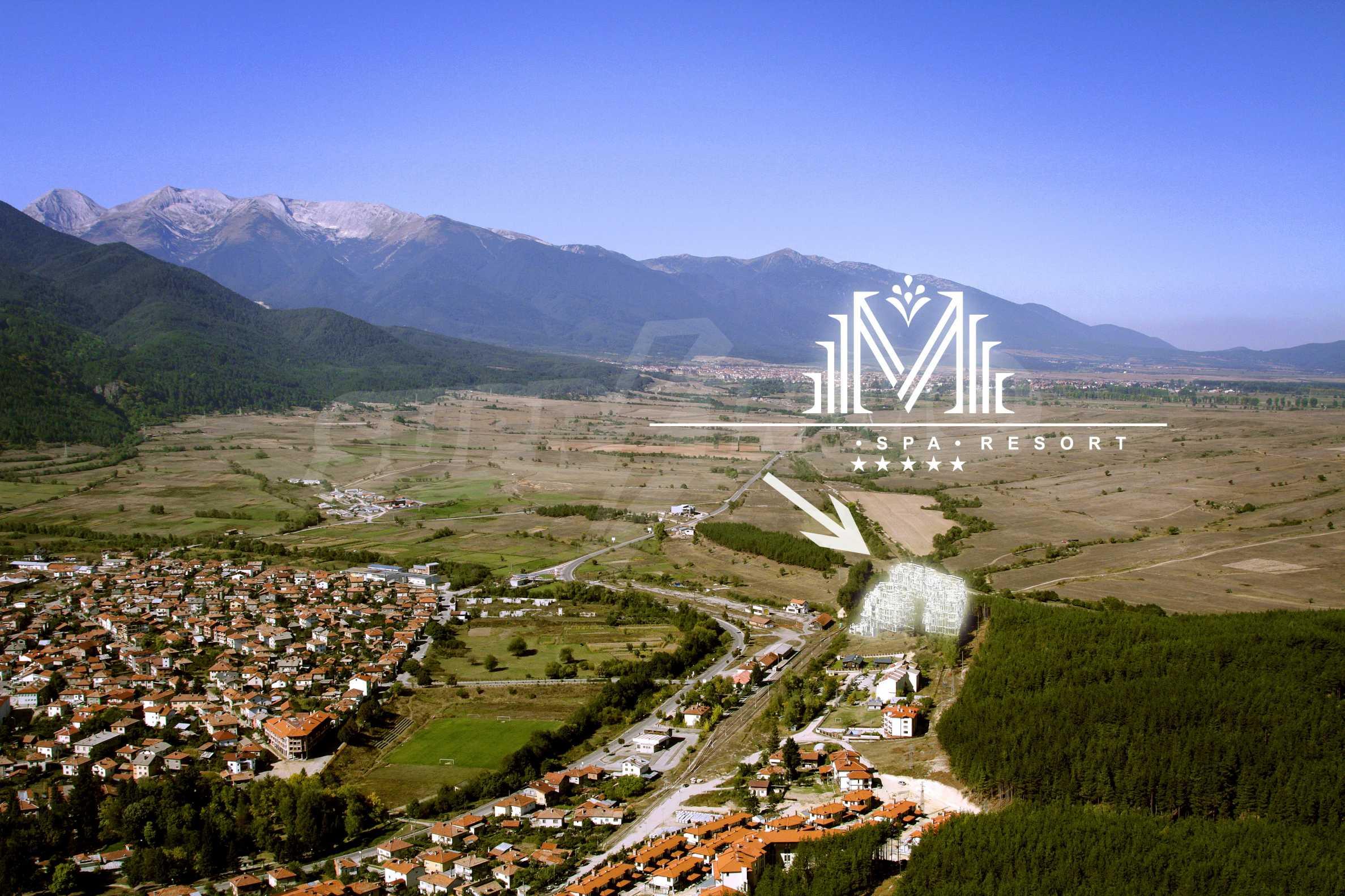 Регулиран парцел (УПИ) с минерална вода в имота на 5 км от Банско 1