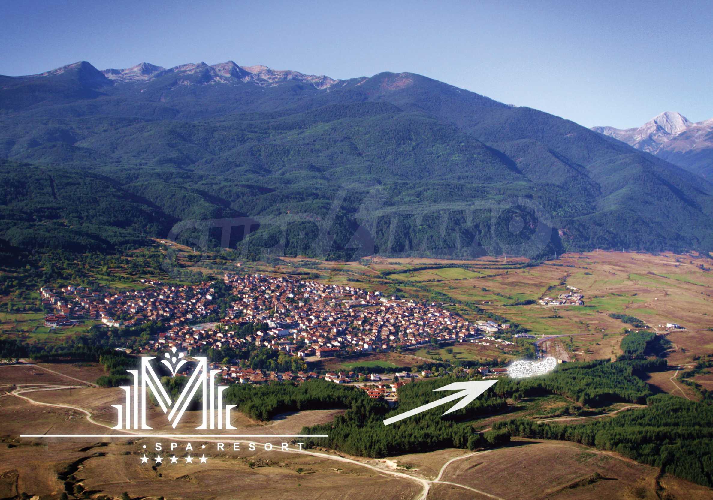 Регулиран парцел (УПИ) с минерална вода в имота на 5 км от Банско 4