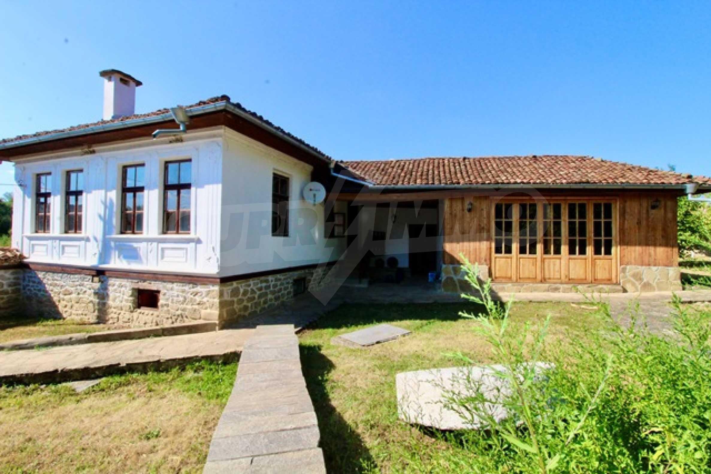 Schönes Wiederbelebungshaus, 17 km von Veliko Tarnovo entfernt