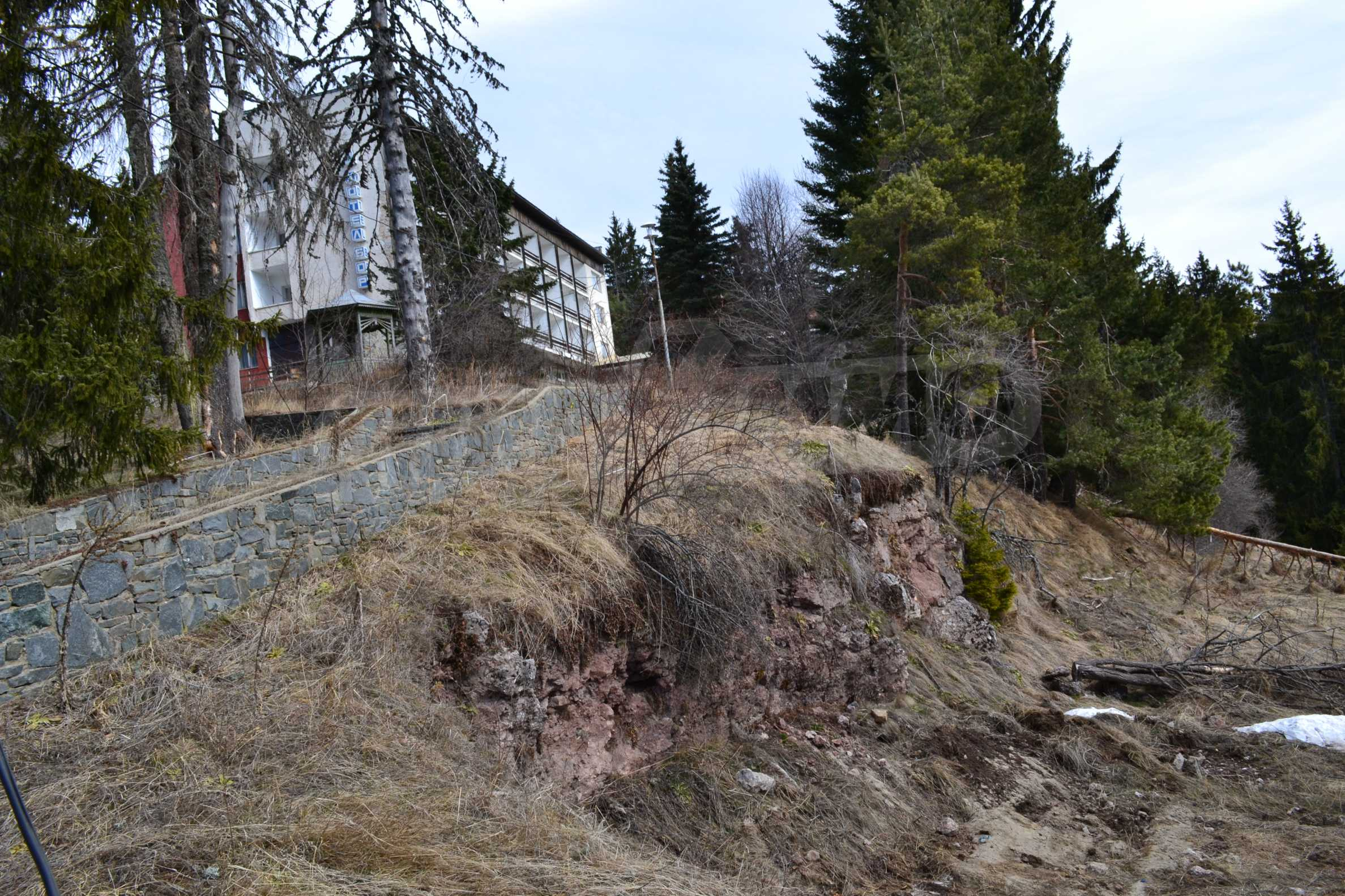 Plot of land near the center of Pamporovo with great view and view