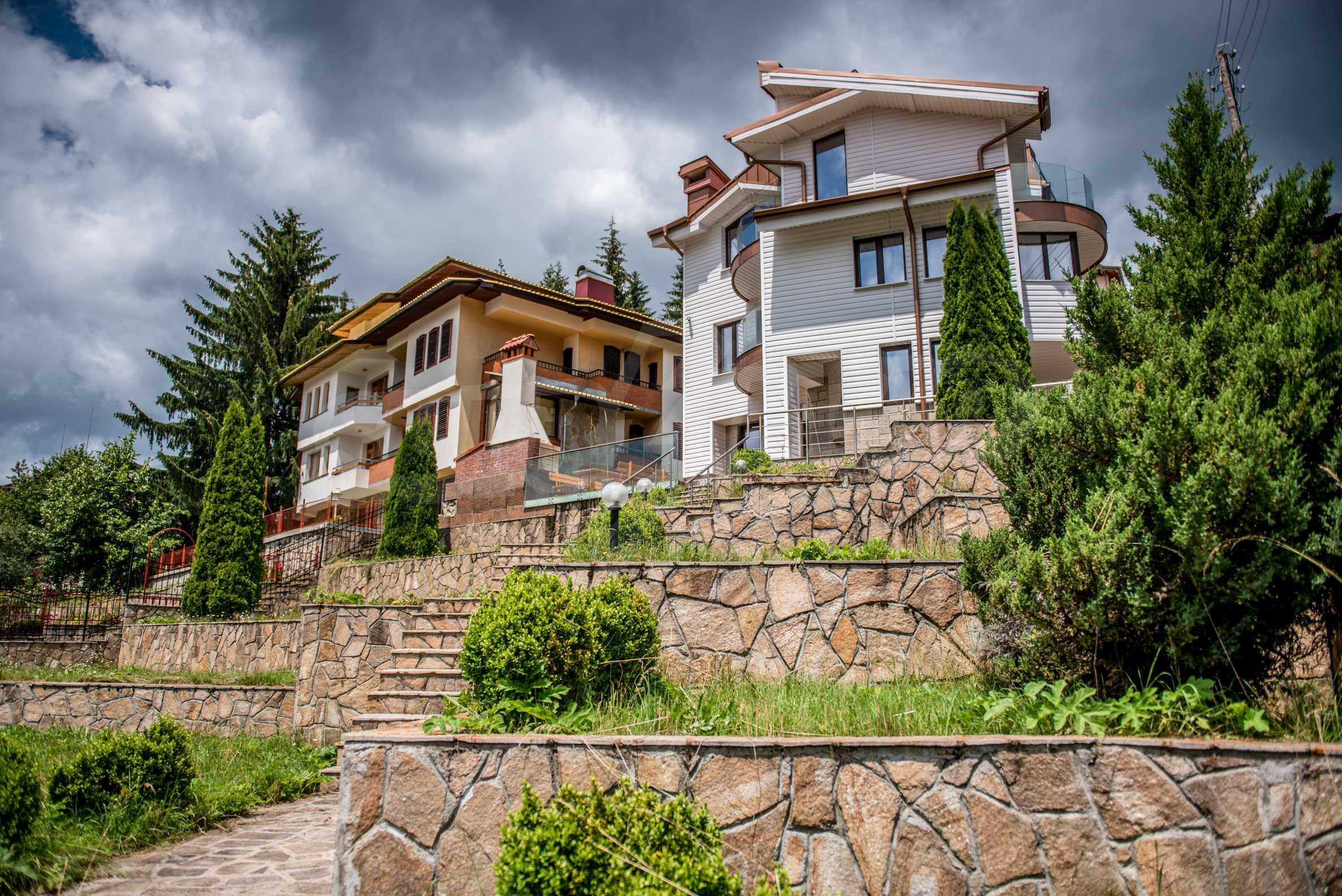 Luxus-Berghaus mit Garten in der Nähe von Pamporovo