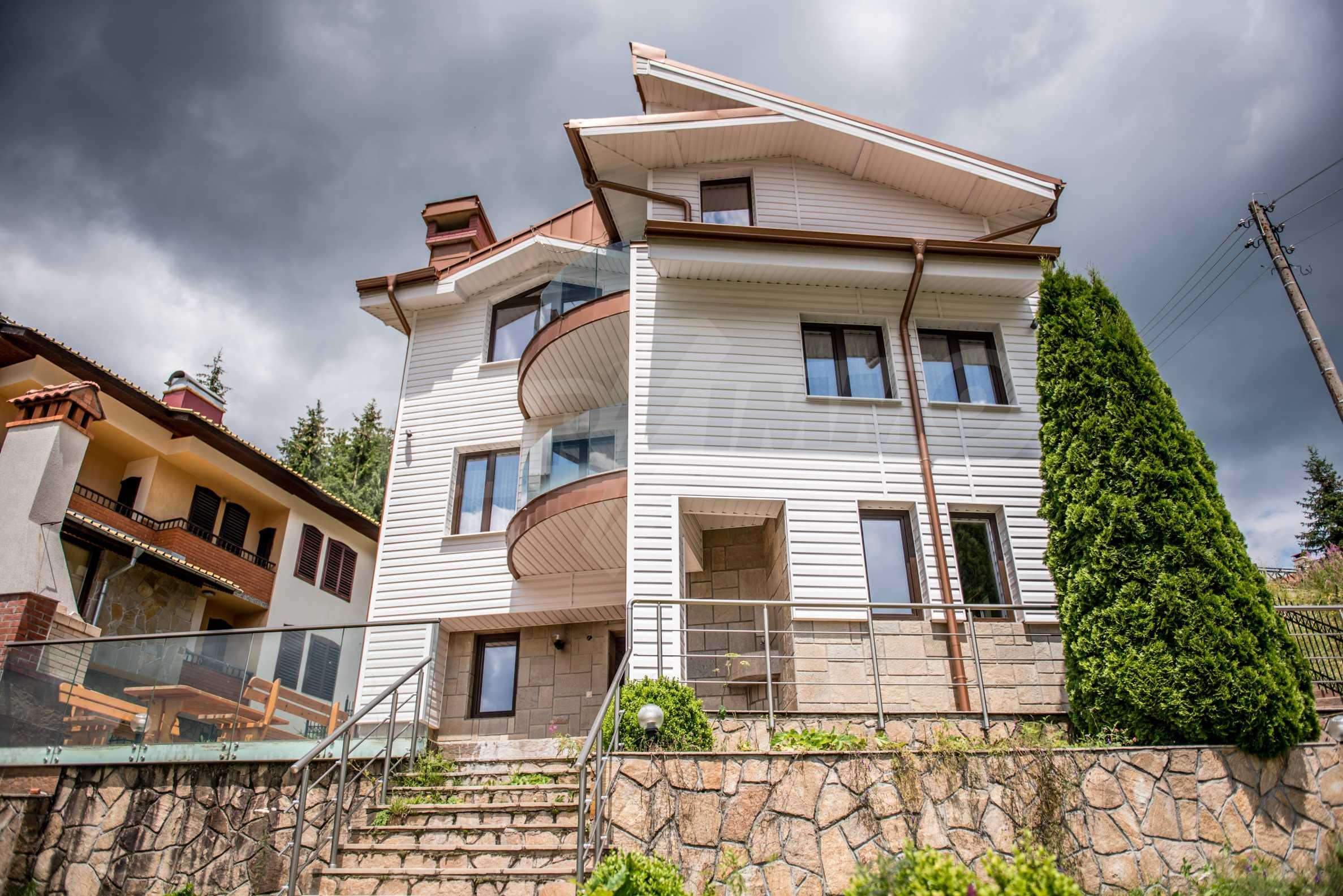 Luxus-Berghaus mit Garten in der Nähe von Pamporovo 1