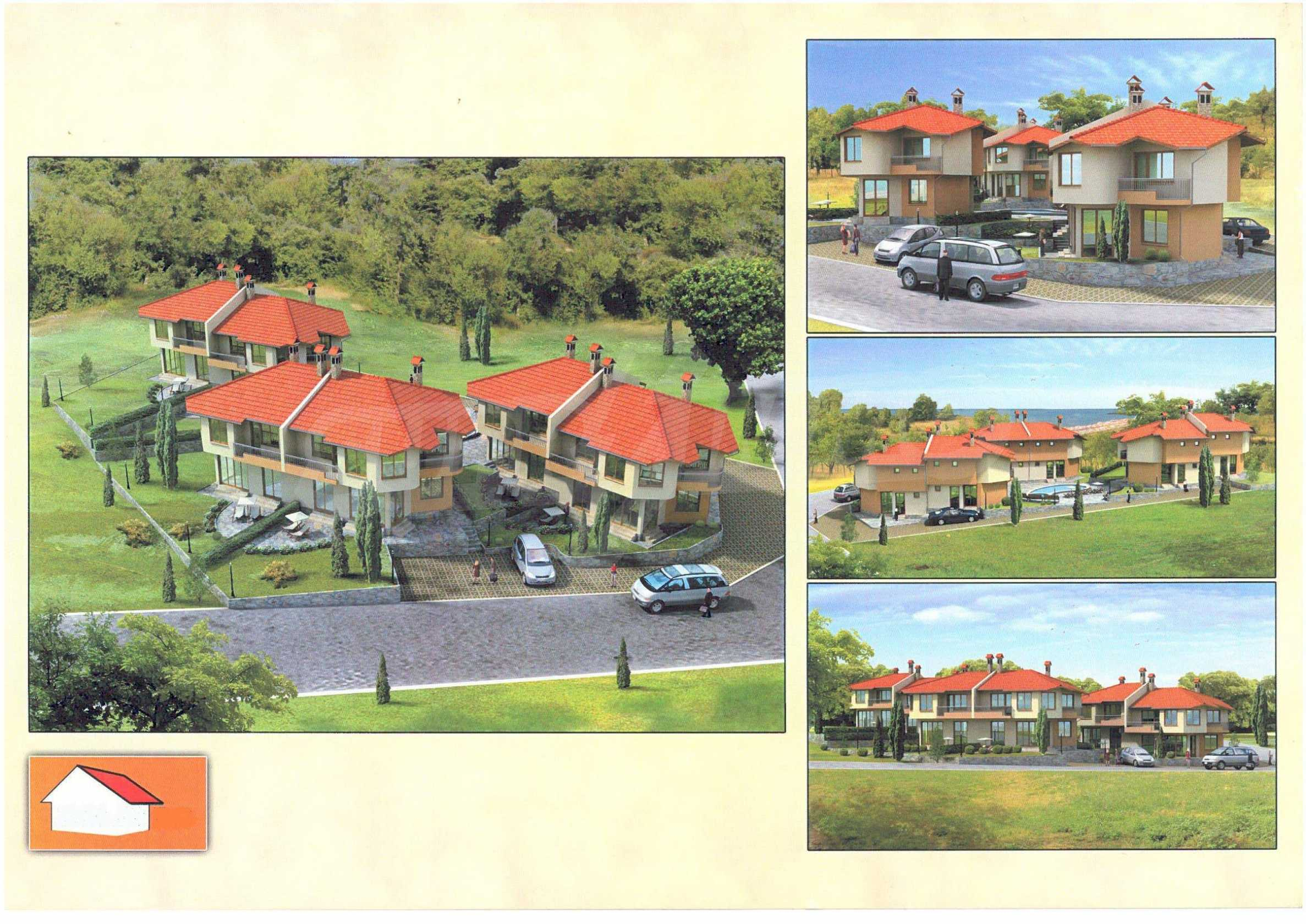 Plot with project in Byala, Varna