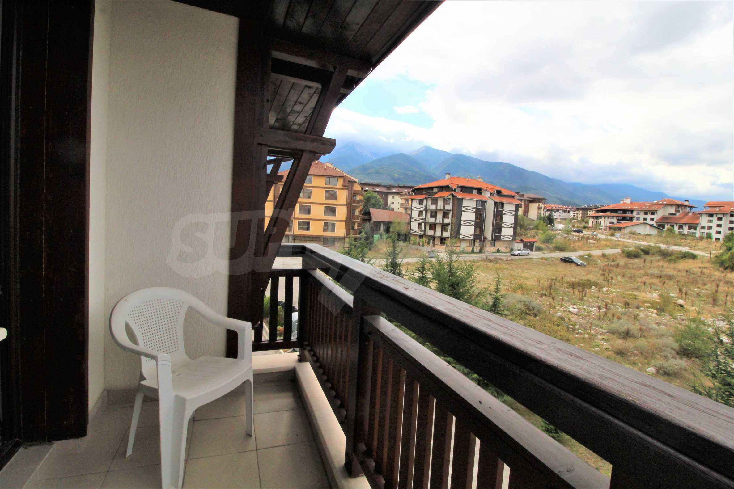 Двустаен апартамент в близост до ски лифта в Банско 4