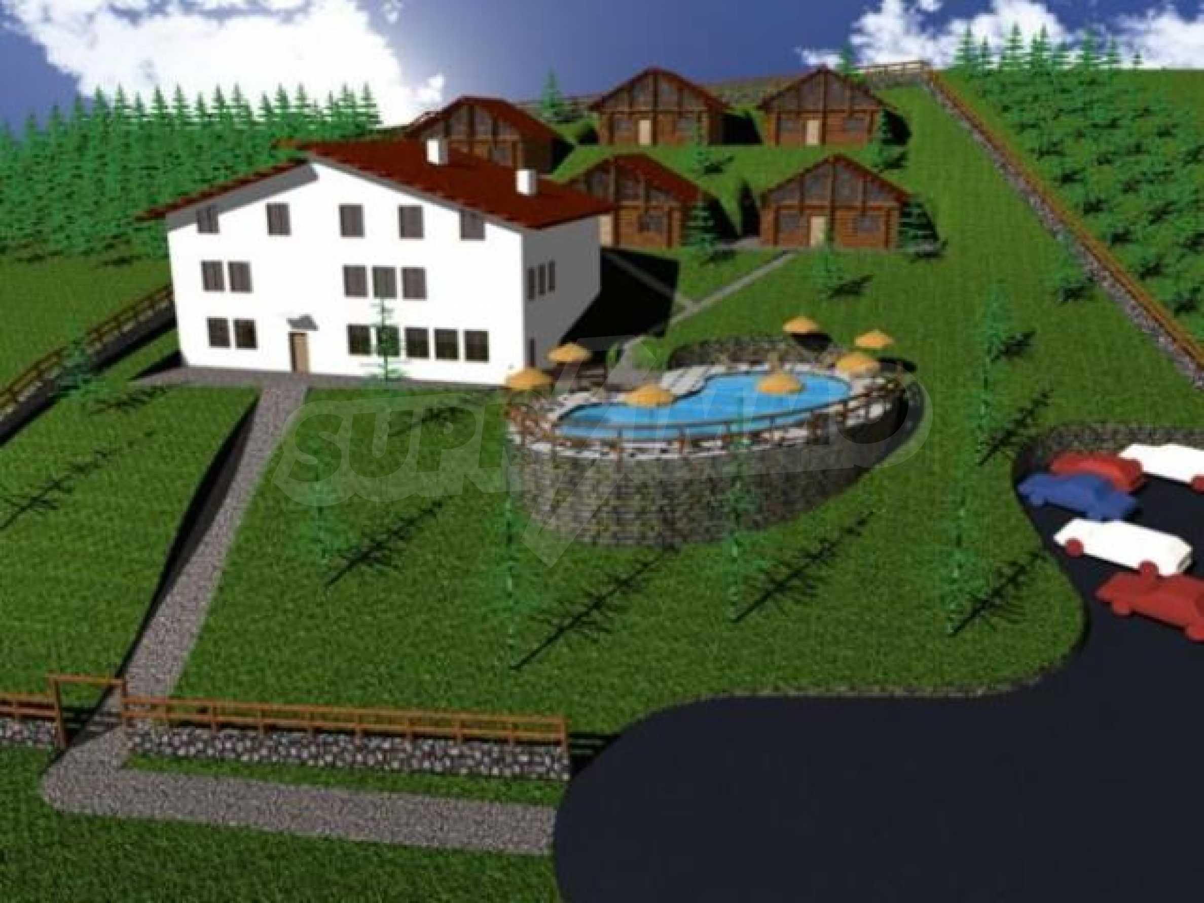 Neugebautes Haus mit Geschäftspotential, nur 6 km von Trjawna entfernt 7