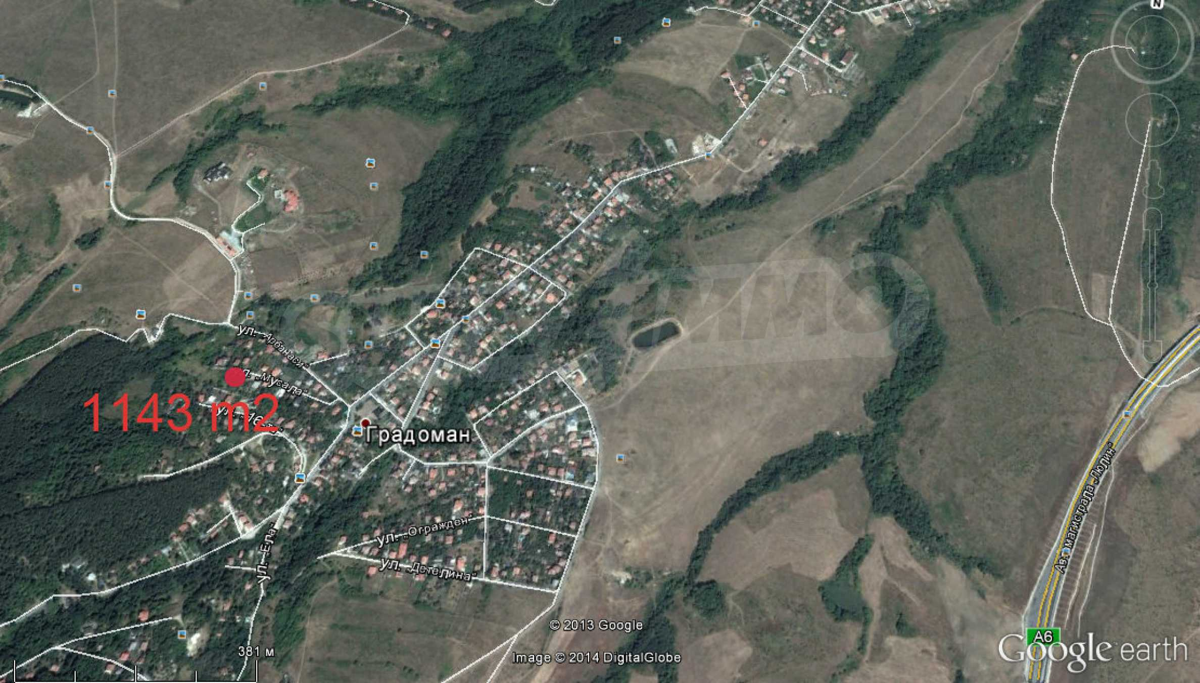 Baugrundstück zu verkaufen im Stadtteil Gradoman 1