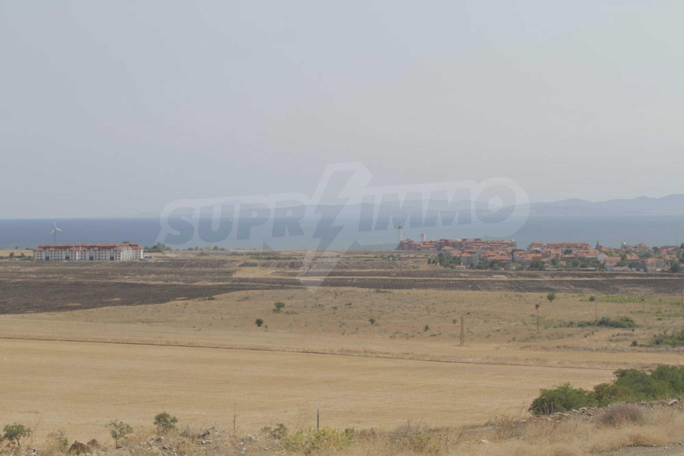 Земельный участок с видом на море вблизи Солнечного берега, г. Ахелой и с. Тынково 14
