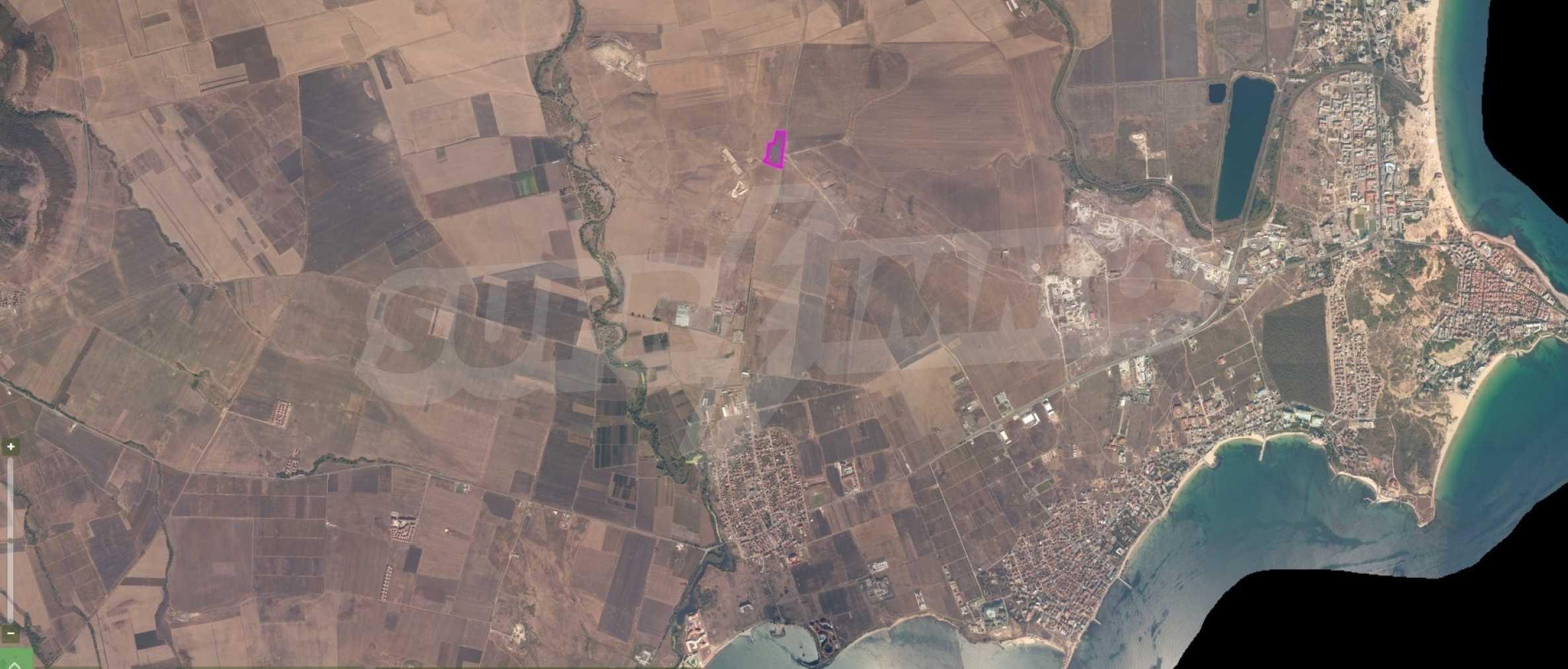 Земельный участок с видом на море вблизи Солнечного берега, г. Ахелой и с. Тынково 3