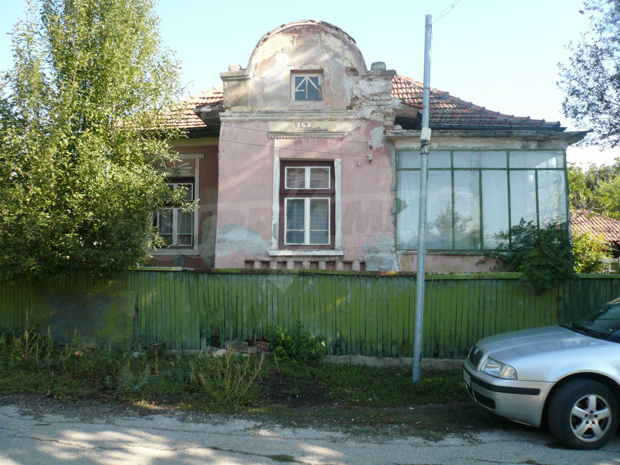 Zwei Landhäuser mit einem Garten 10 km von Vidin entfernt