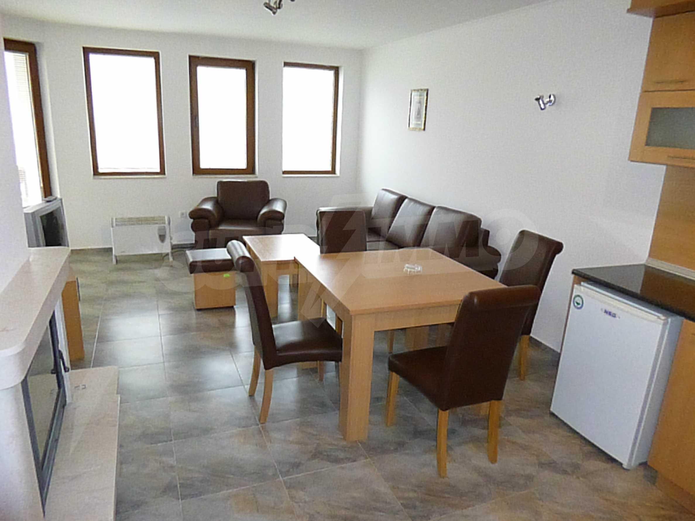 """Ein-Zimmer-Wohnung in \ """"Kloster 3 \"""" in Pamporovo 1"""