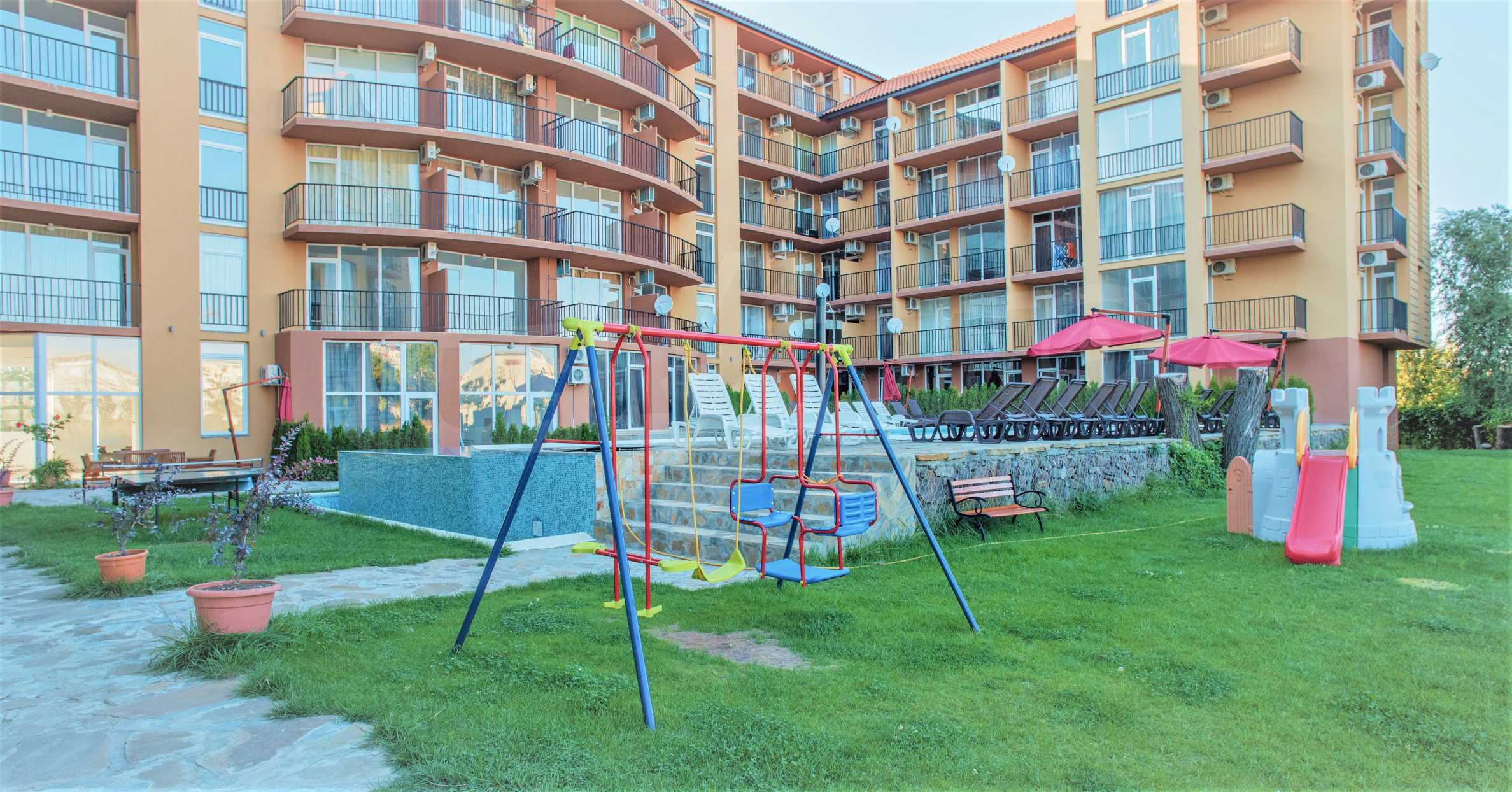 Holiday apartments in a seaside complex 700 m from Cacao Beach 5