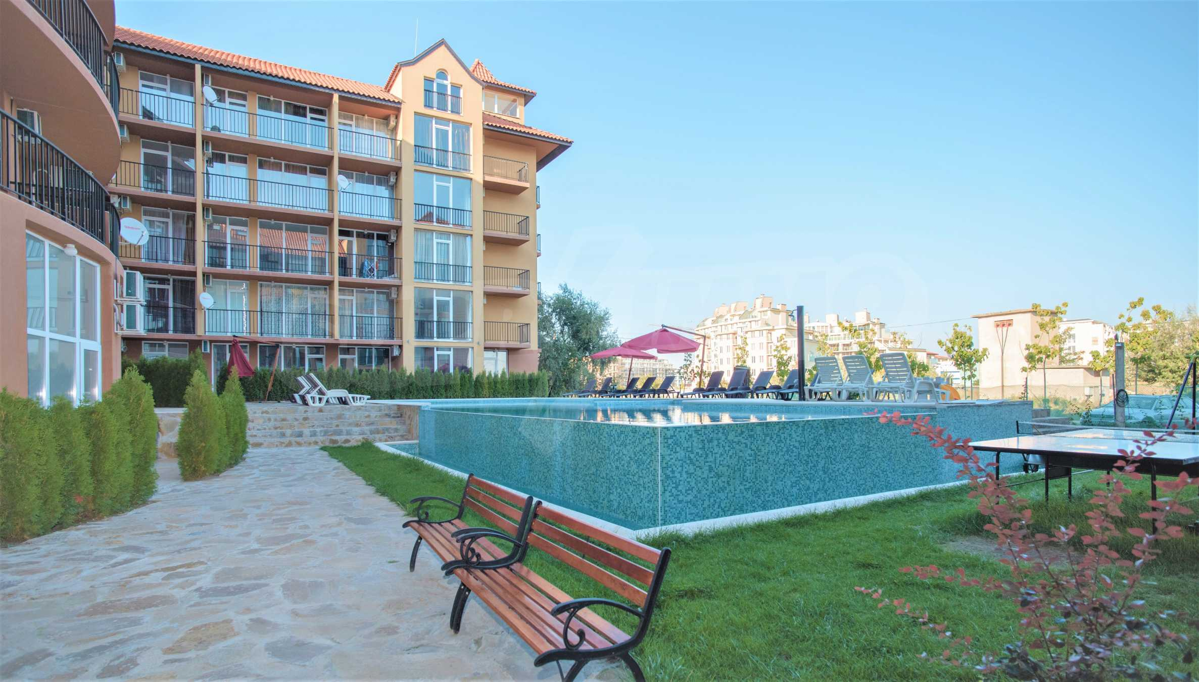 Holiday apartments in a seaside complex 700 m from Cacao Beach 7
