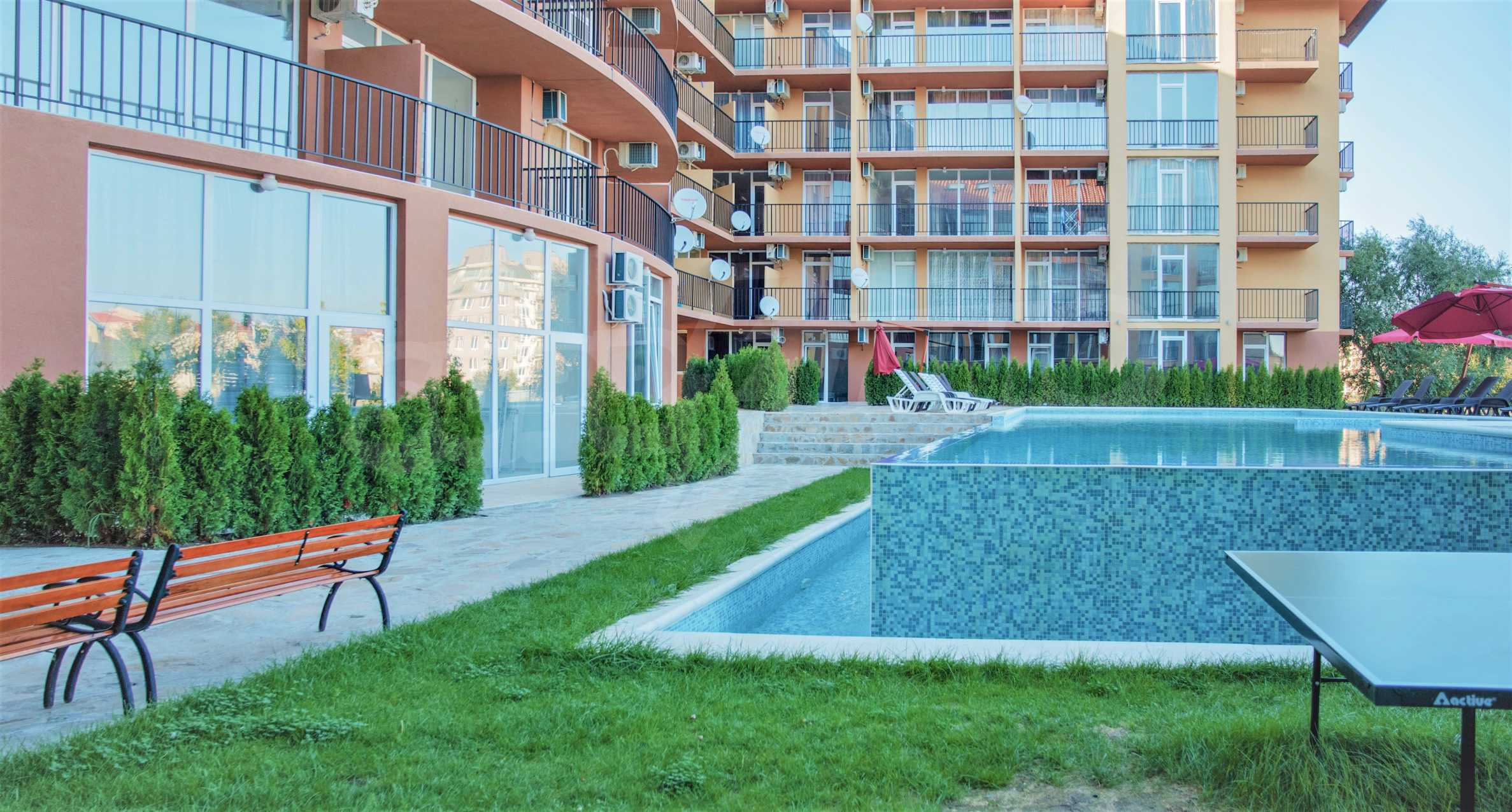 Holiday apartments in a seaside complex 700 m from Cacao Beach 8
