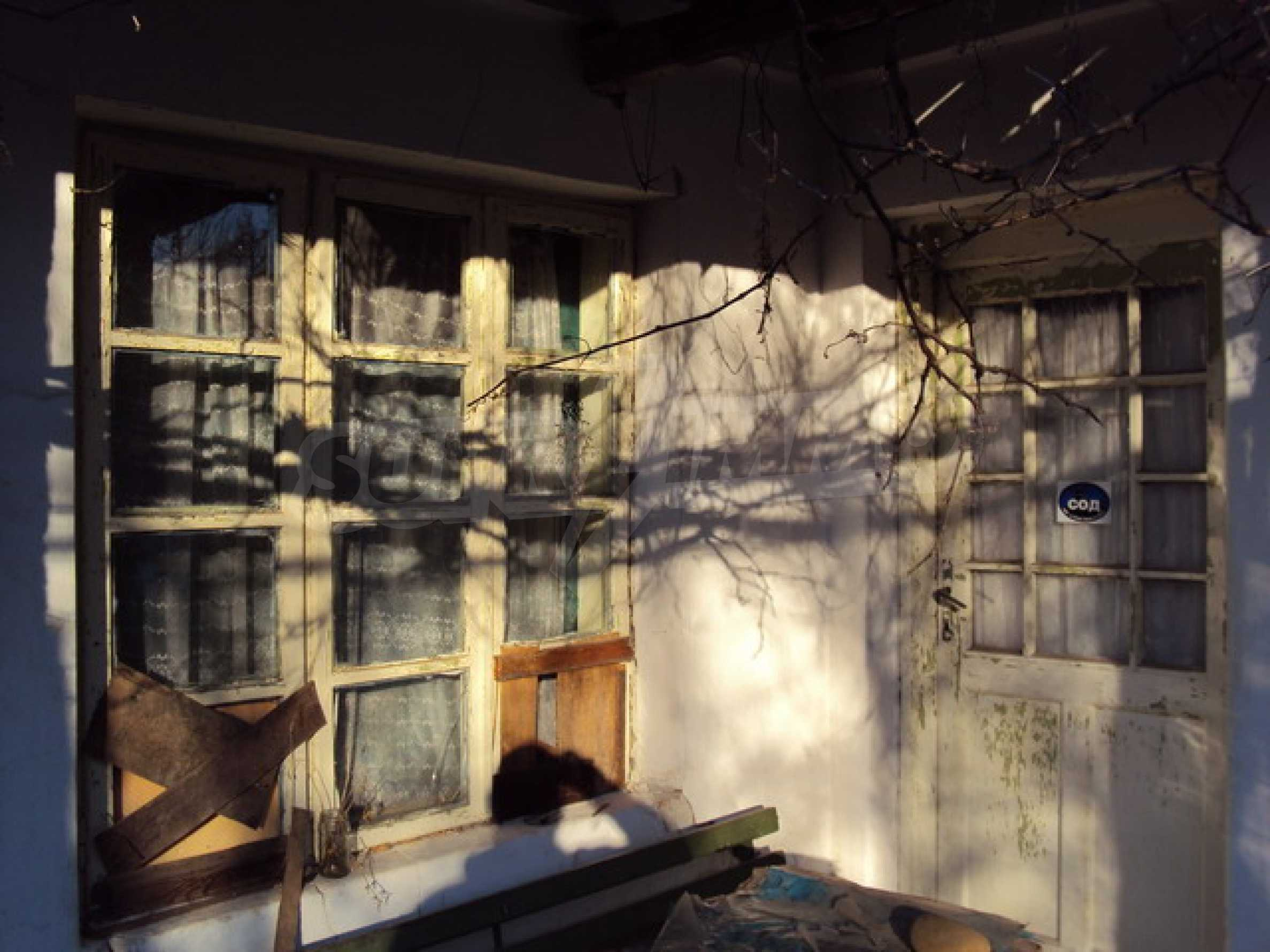 Одноэтажный сельский дом  10