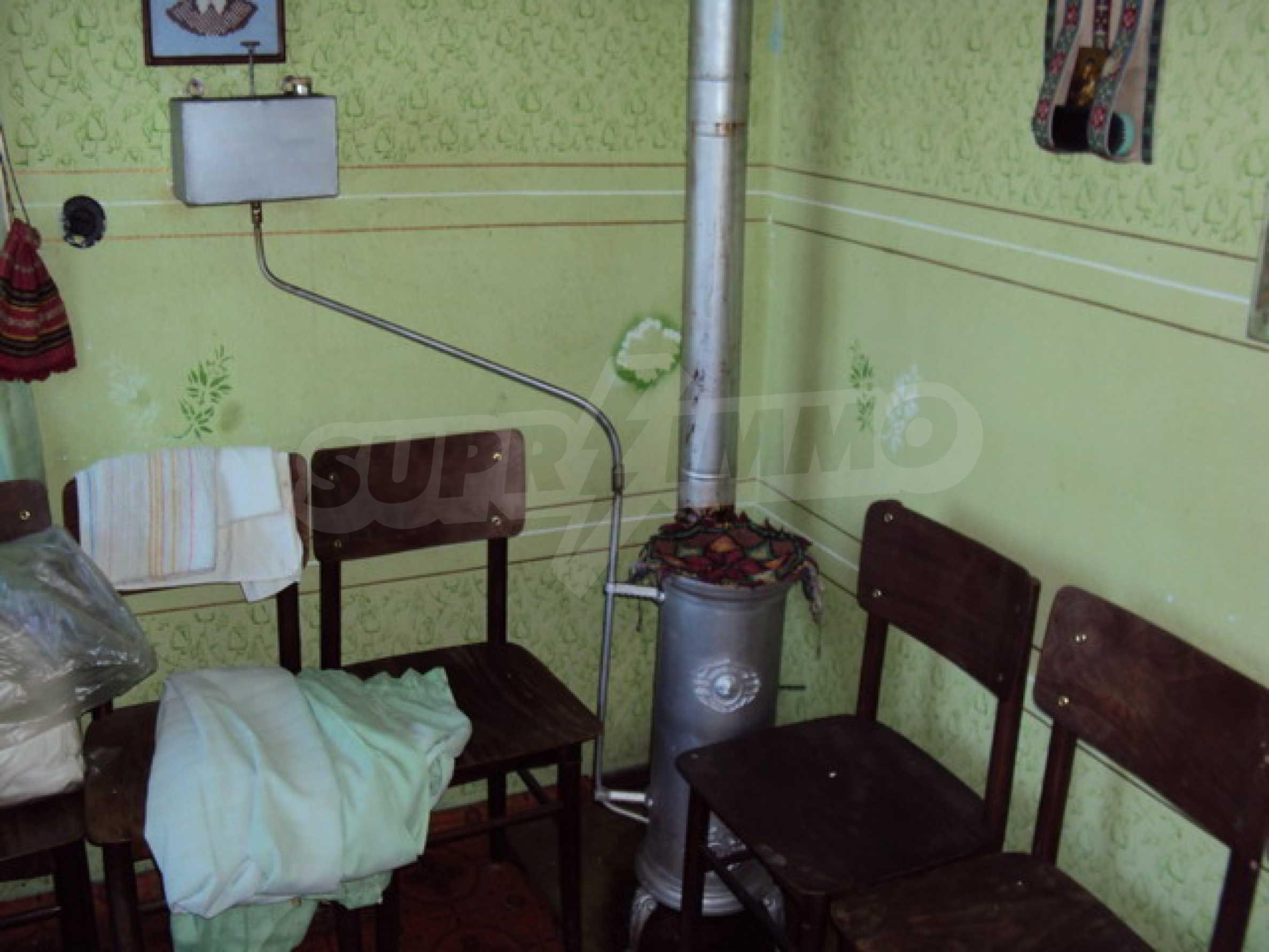 Одноэтажный сельский дом  18