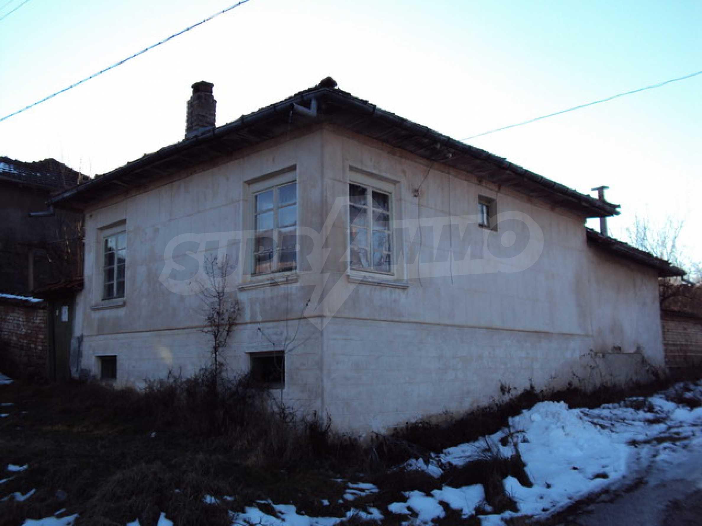 Одноэтажный сельский дом  1