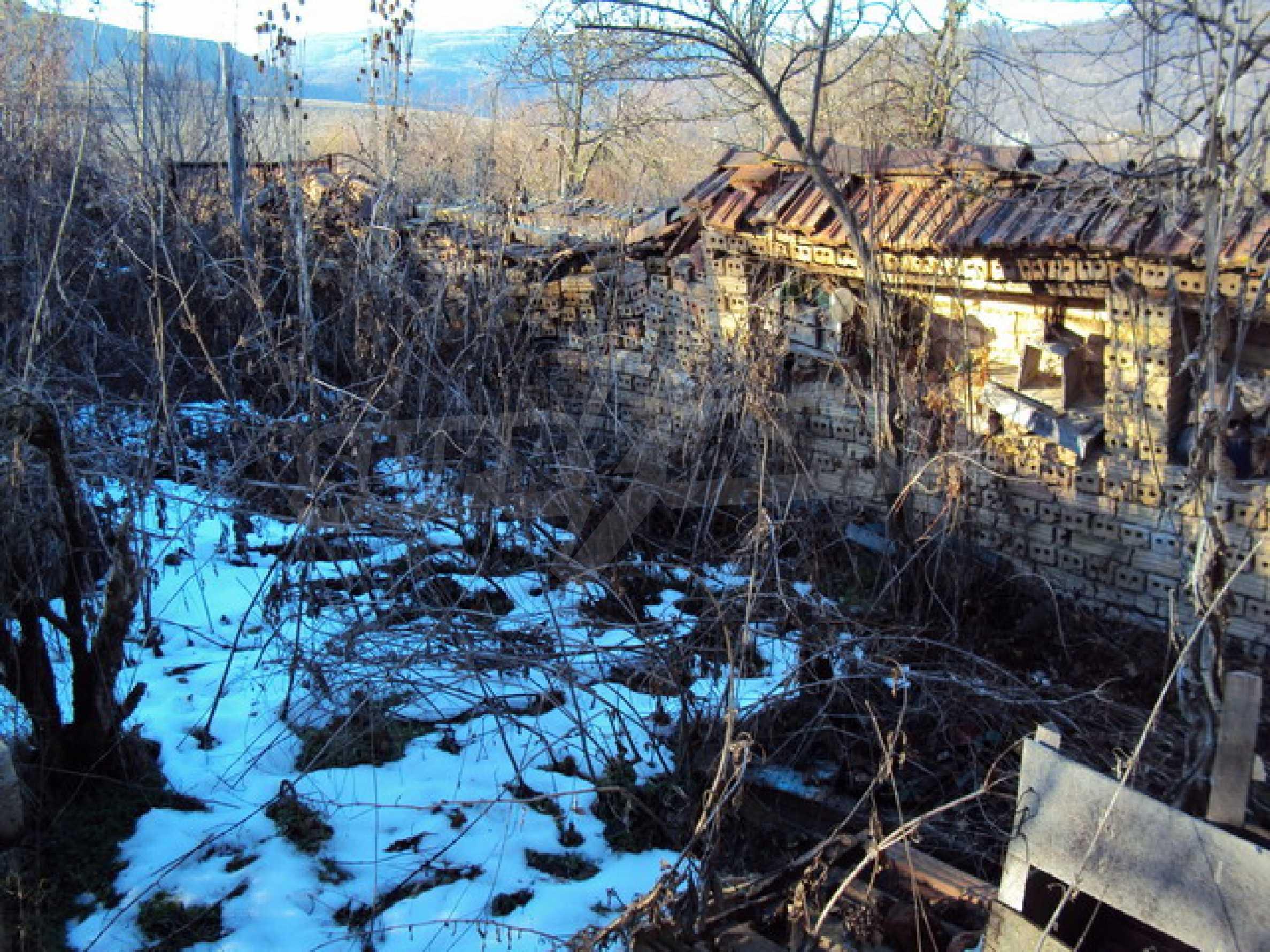 Одноэтажный сельский дом  19