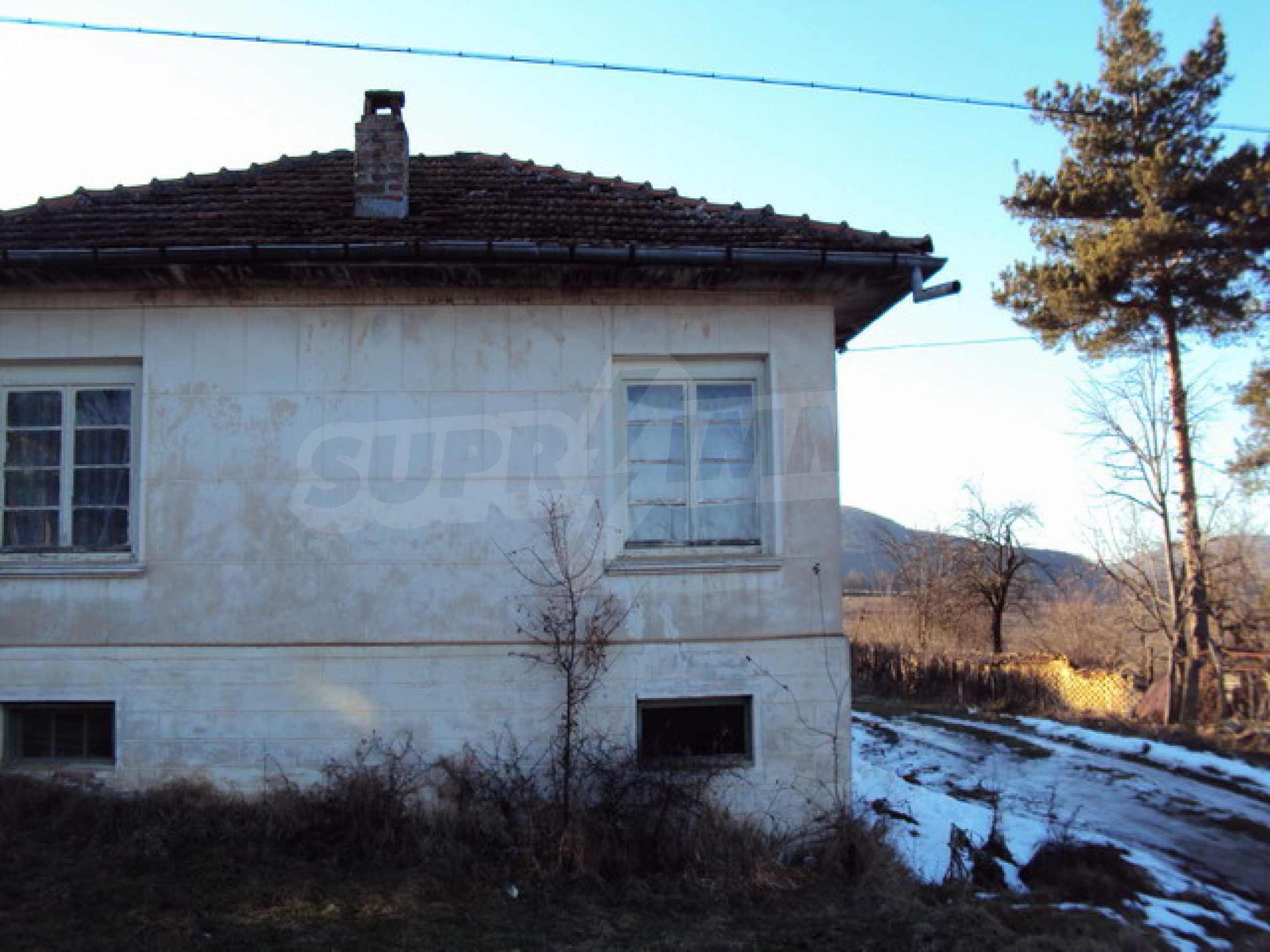 Одноэтажный сельский дом  2