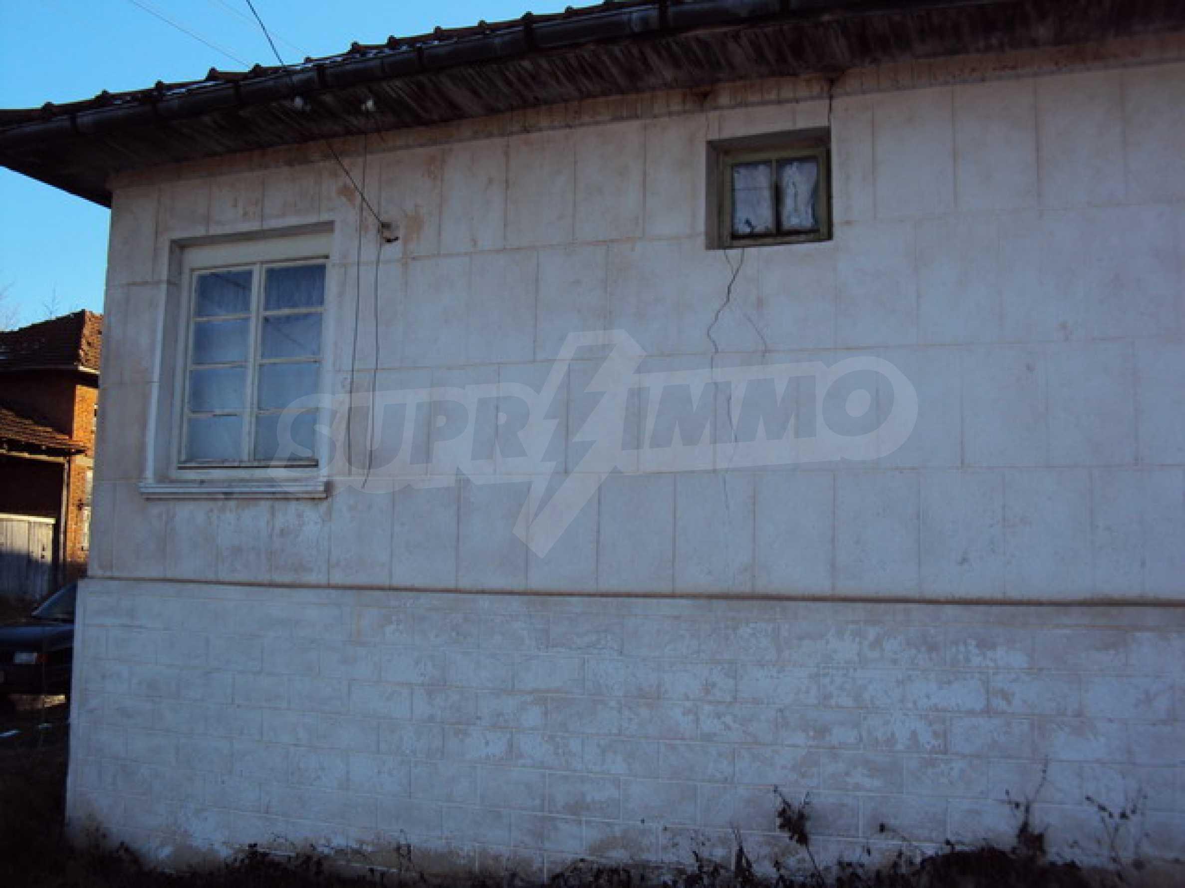Одноэтажный сельский дом  4