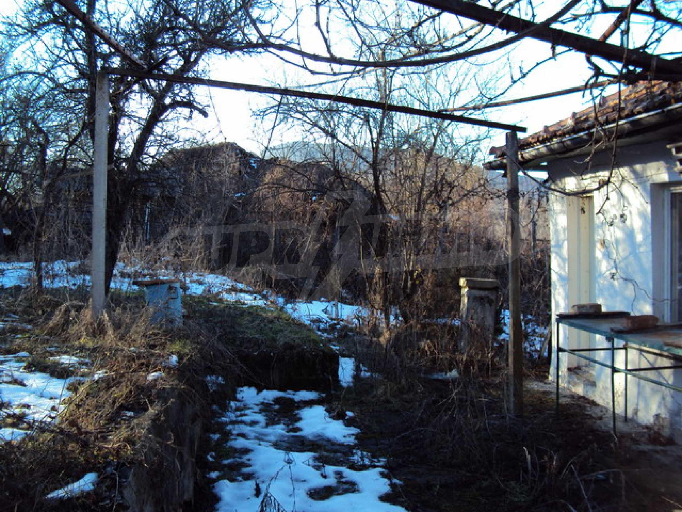 Одноэтажный сельский дом  5