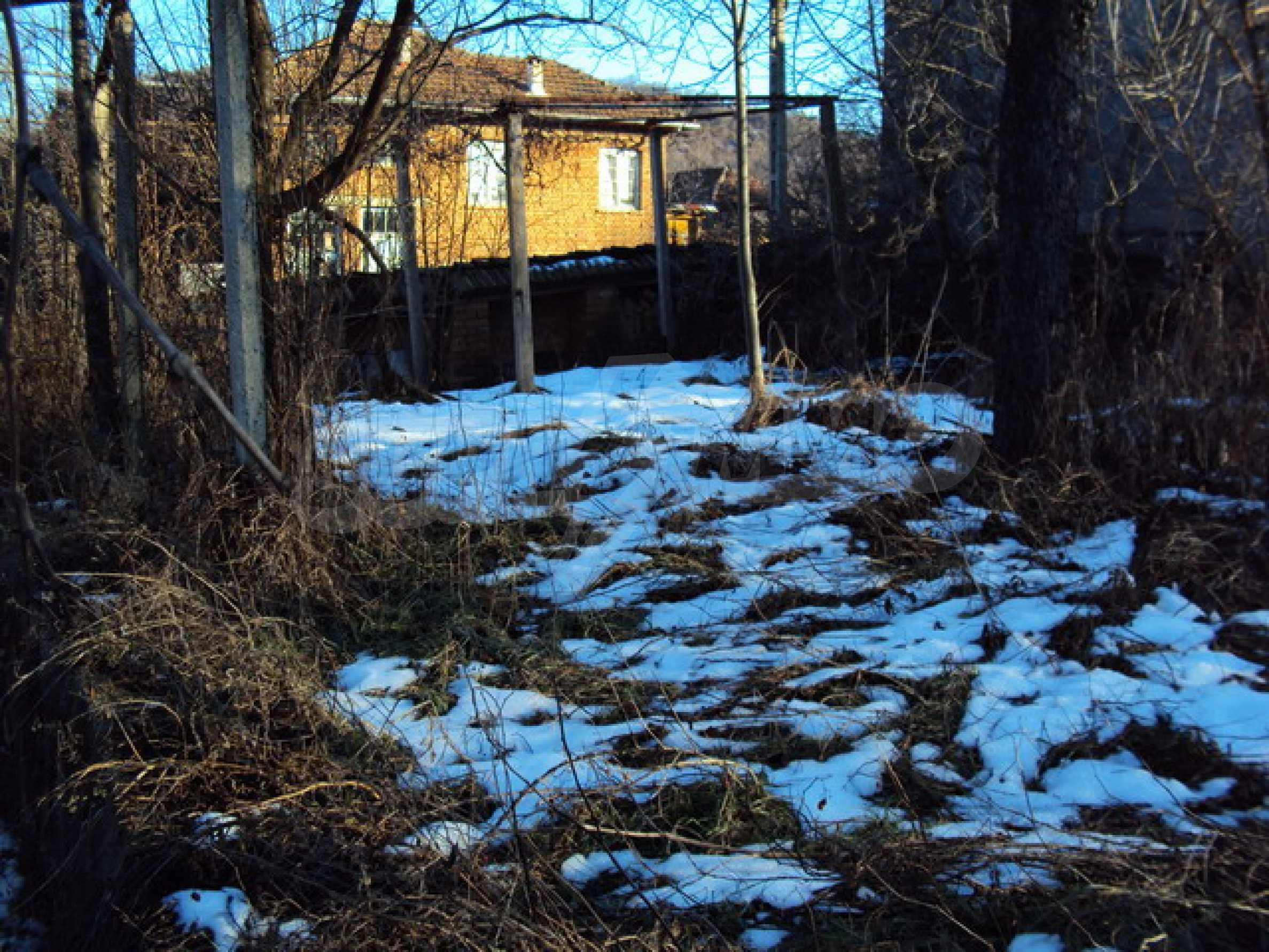 Одноэтажный сельский дом  7