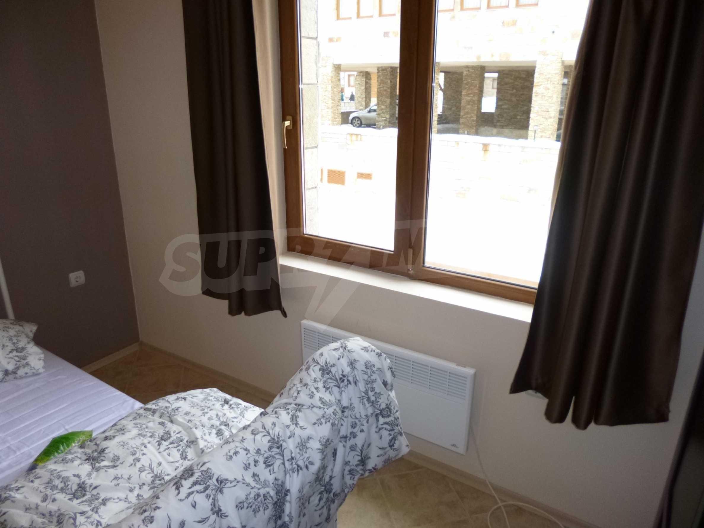 Apartment mit zwei Schlafzimmern im Panoramakomplex 12