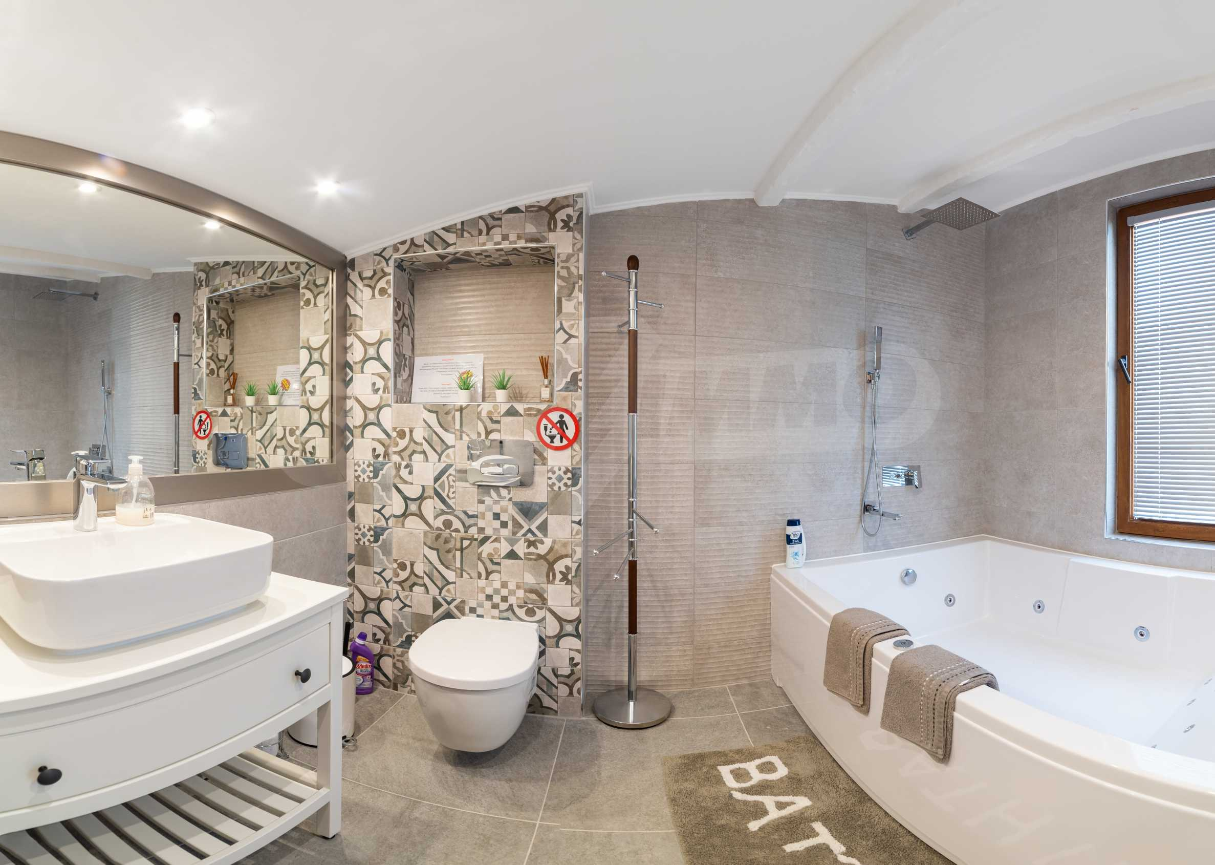 """House """"Paradise"""" - panoramic villa with pool and parking spaces for rent in vz. Sunrise - Balchik 24"""