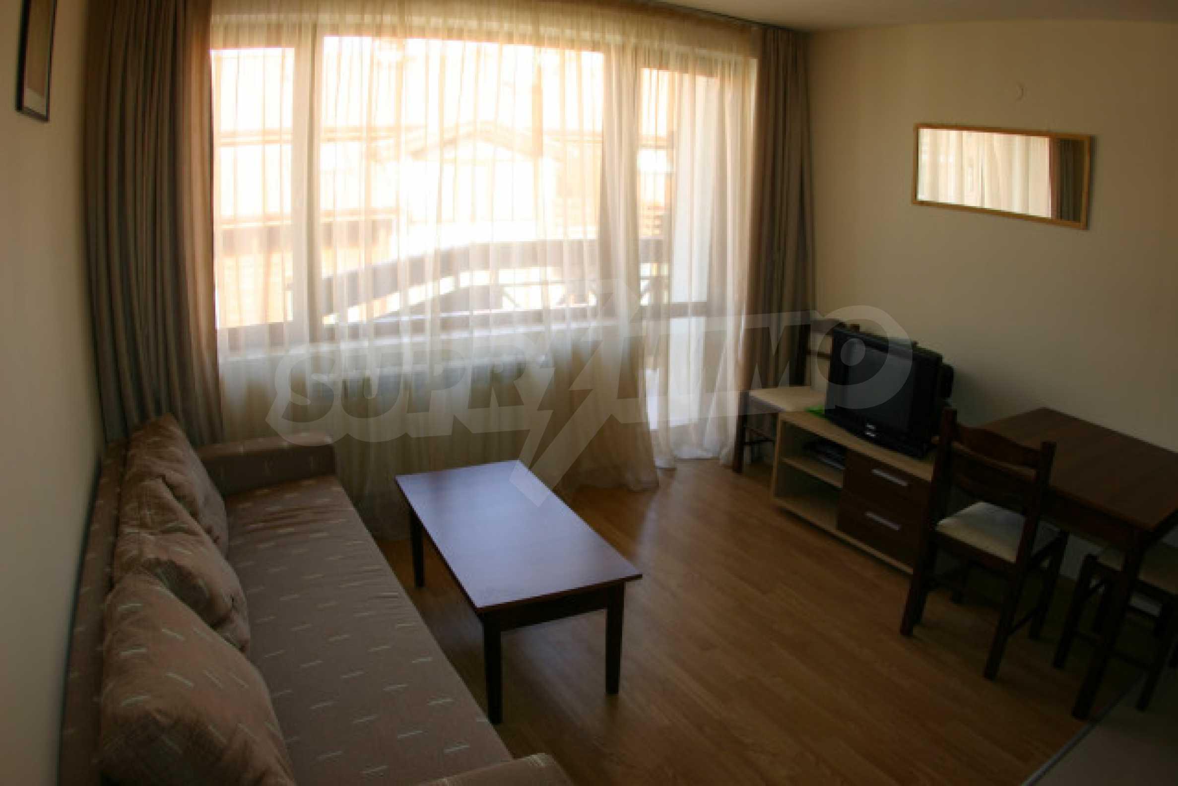 Двухкомнатная квартира на продажу на курорте Банско 2