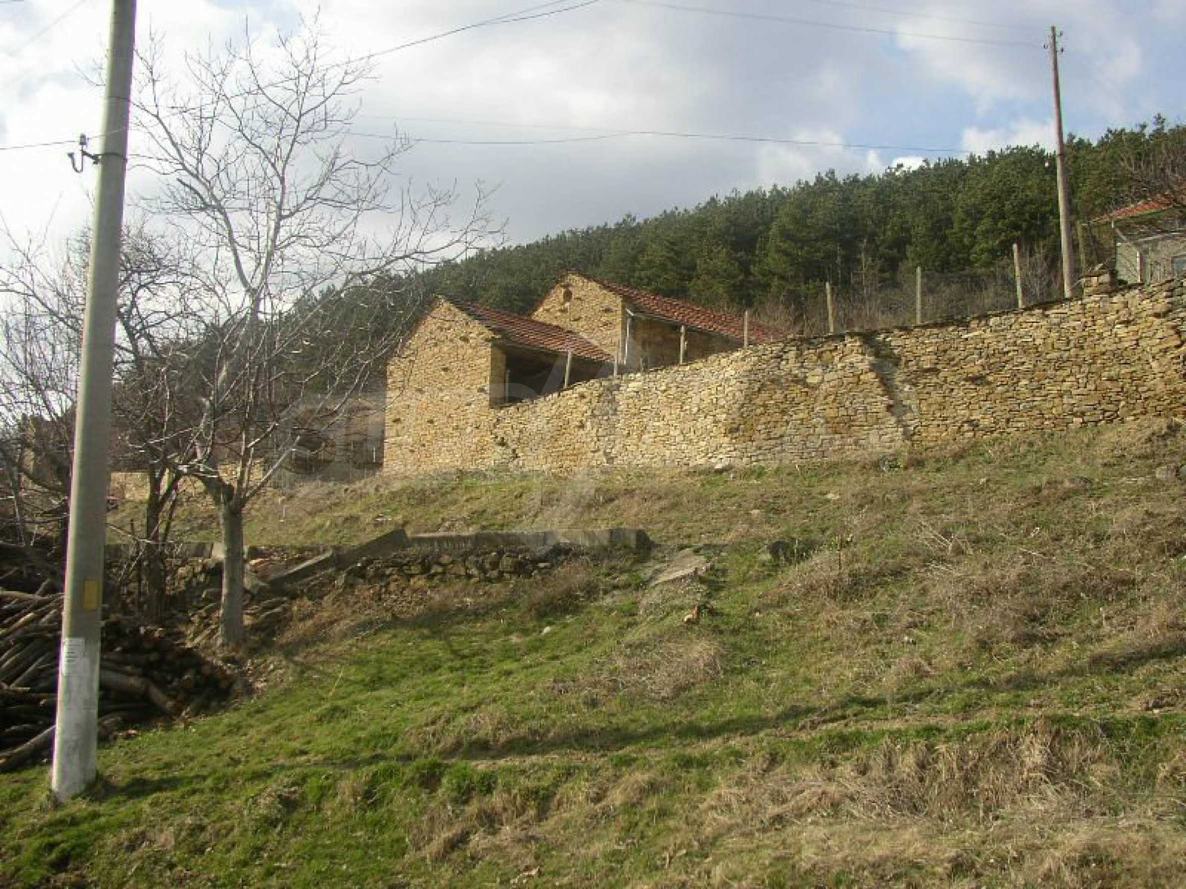 Solides zweistöckiges Haus in ausgezeichnetem Zustand auf dem Dryanovo-Balkan 15