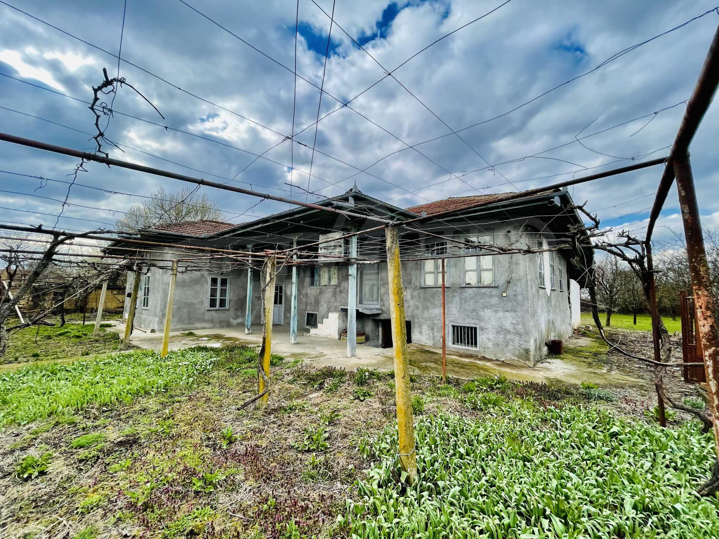 Einstöckiges Haus mit großem Garten in einem Dorf 26 km von Veliko Tarnovo entfernt 37