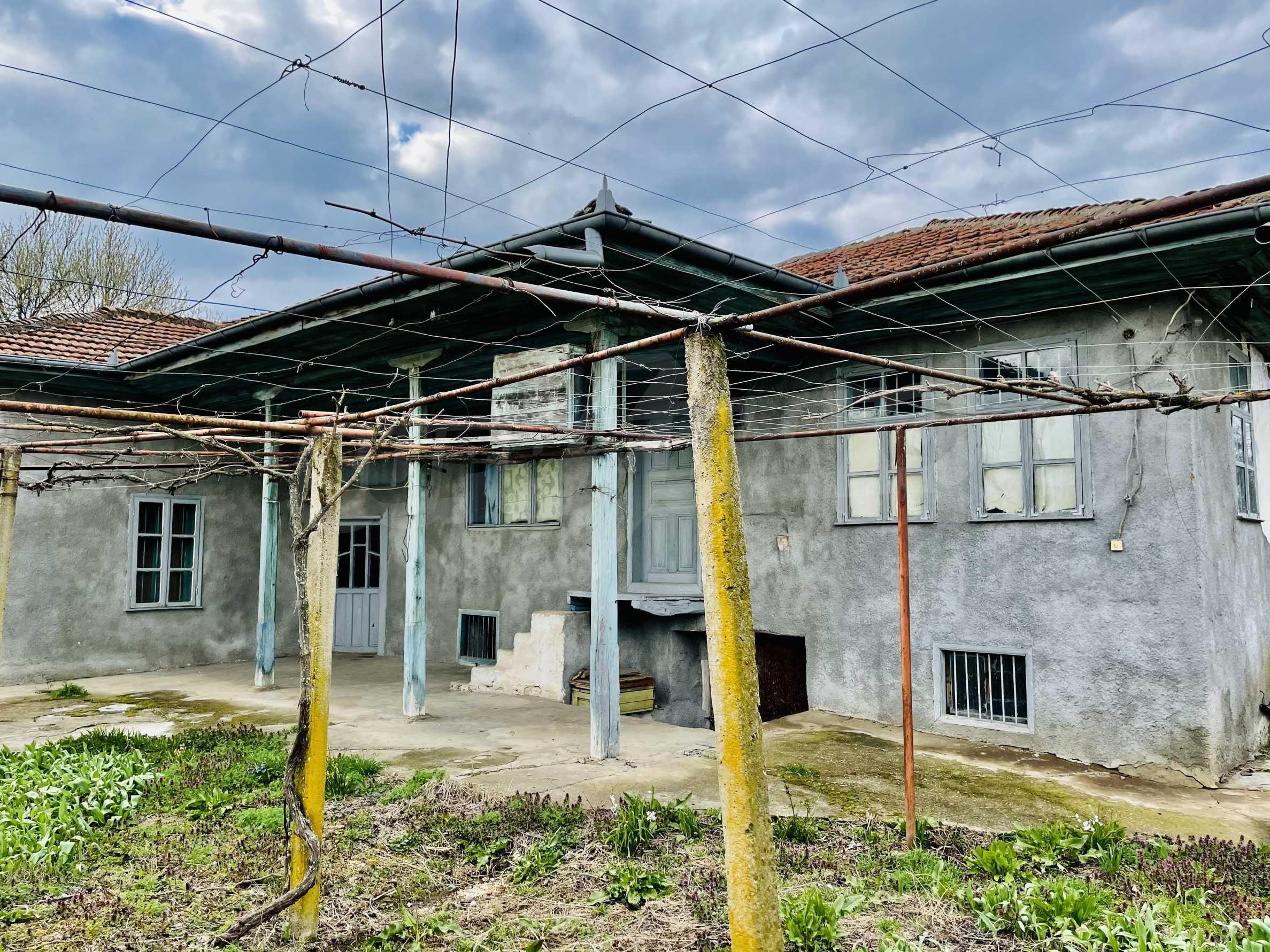 Einstöckiges Haus mit großem Garten in einem Dorf 26 km von Veliko Tarnovo entfernt 38