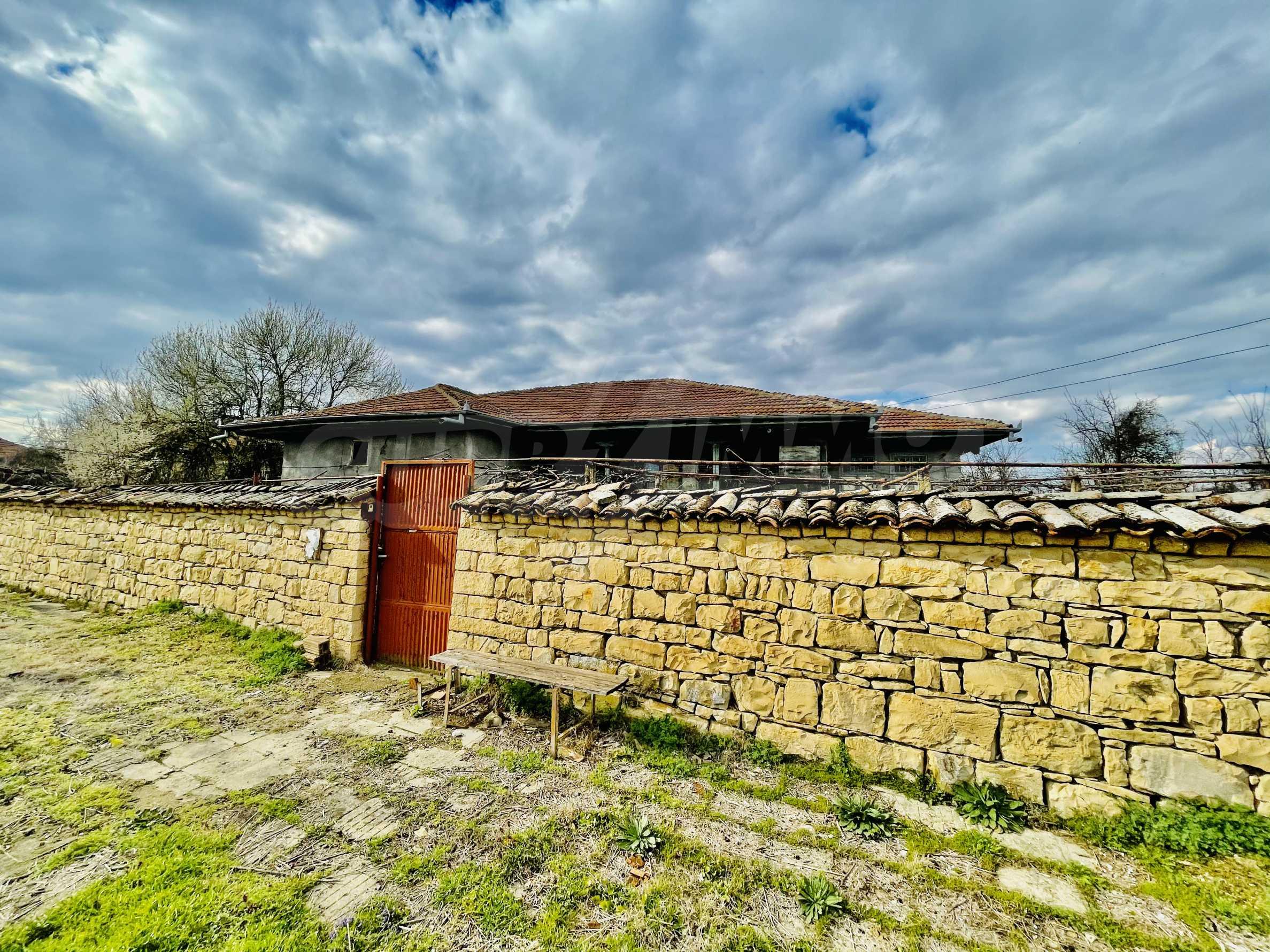 Einstöckiges Haus mit großem Garten in einem Dorf 26 km von Veliko Tarnovo entfernt 40