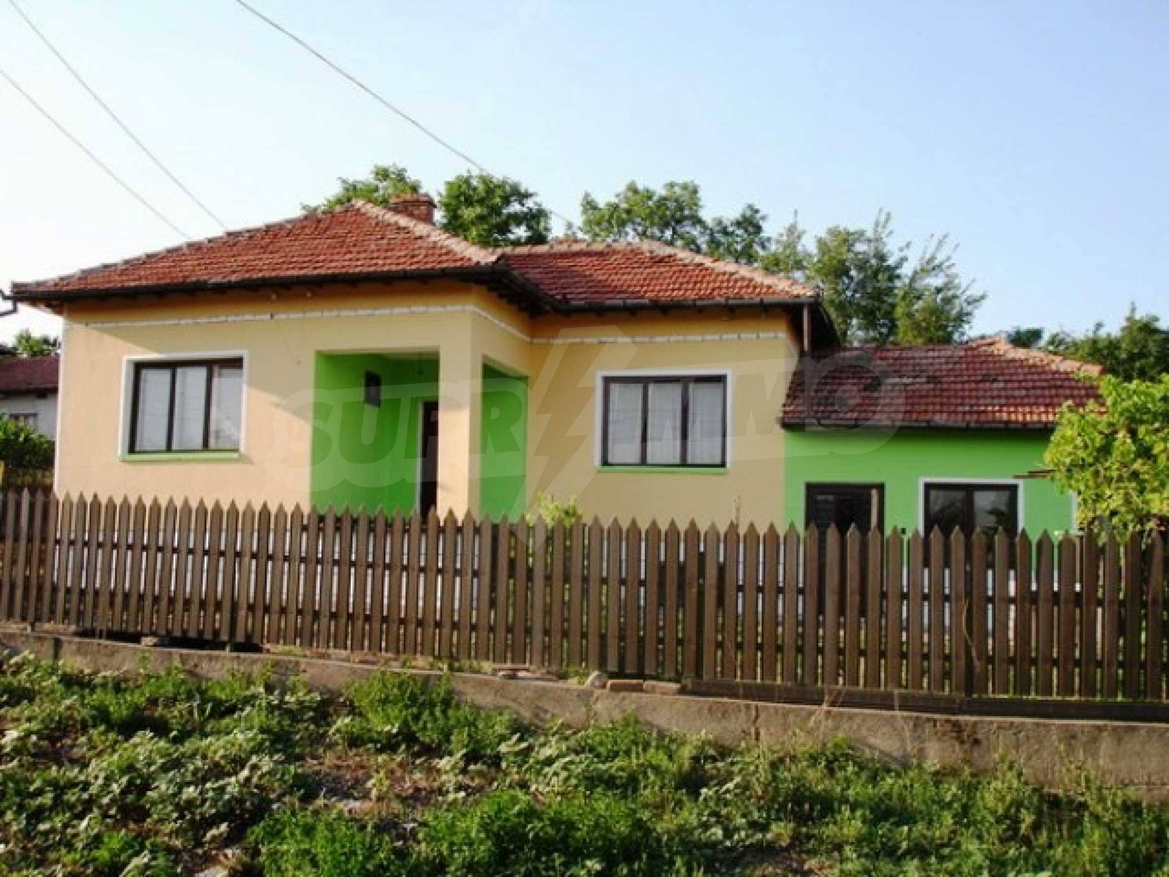 One-storey 3-bedroom house in Piperkovo village, Ruse district 2