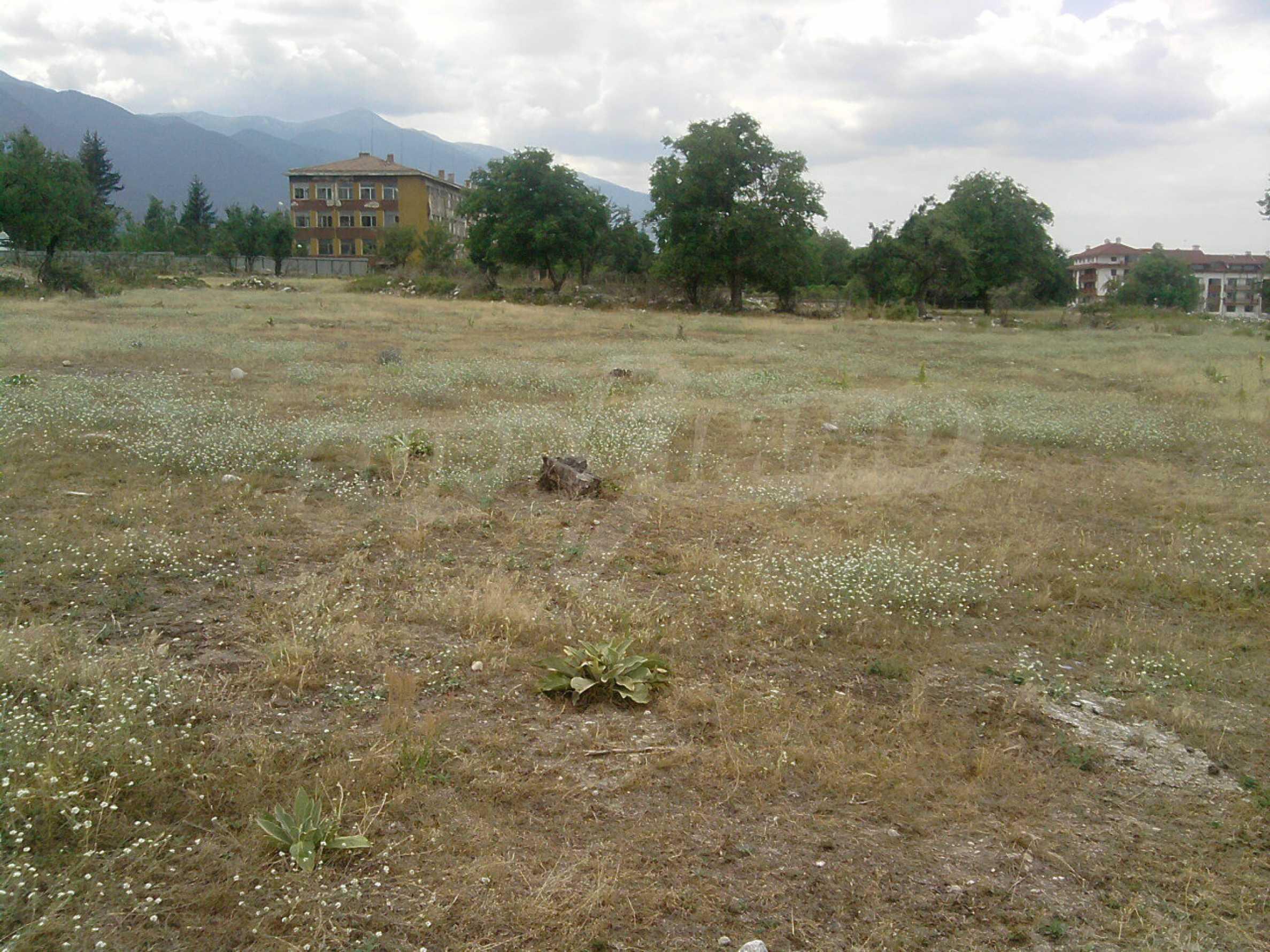 Baugrundstück 400 m vom Kabinenlift in Bansko entfernt