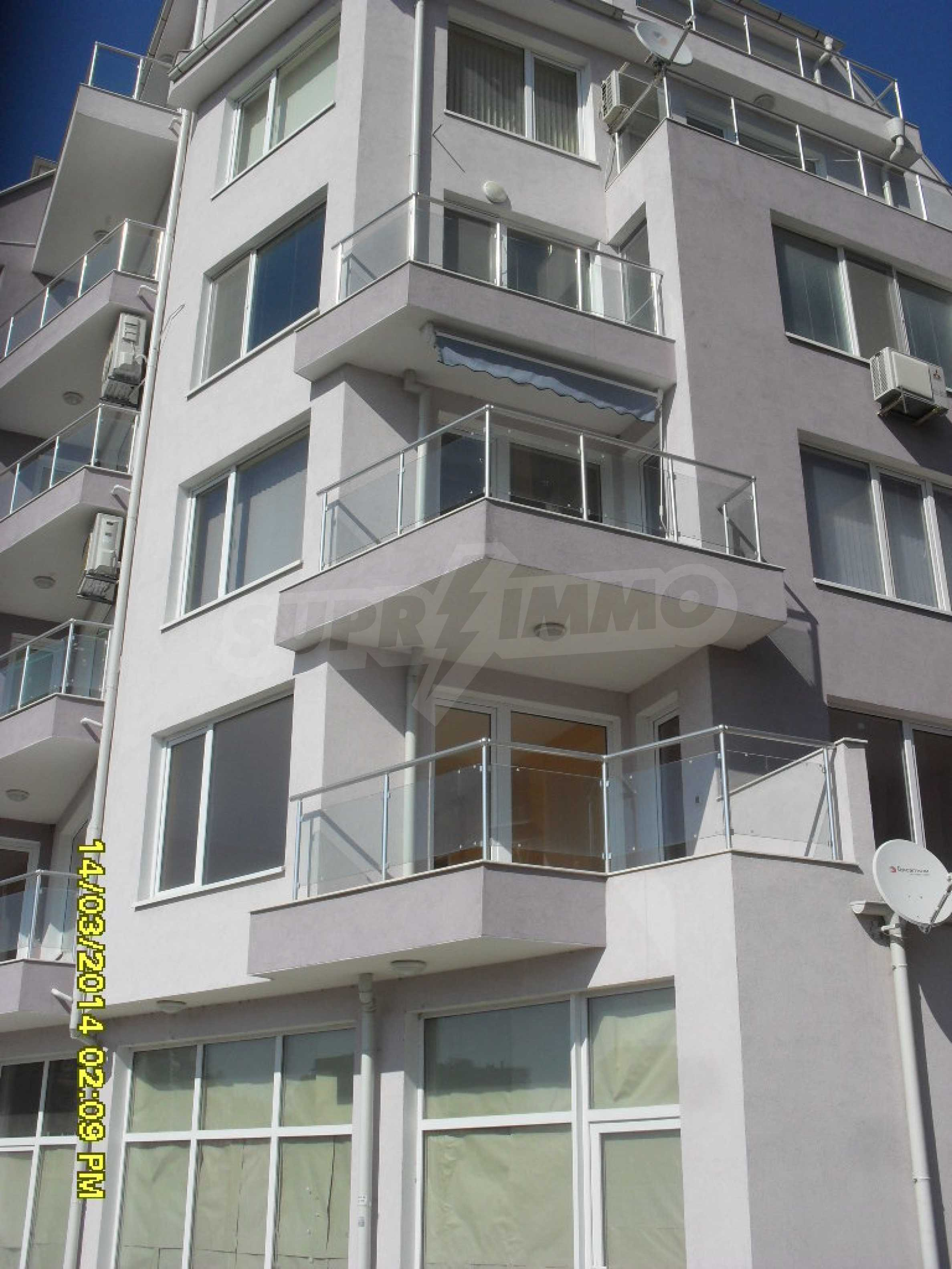 Zwei-Zimmer-Wohnung in Pomorie am Strand