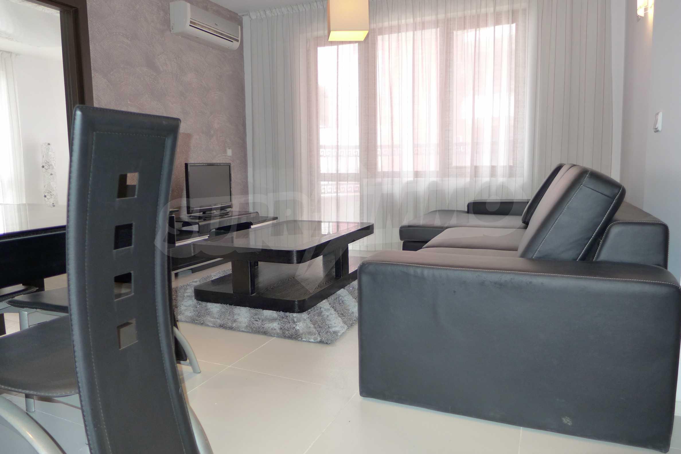 Apartment mit zwei Schlafzimmern in einem luxuriösen Aparthotel 11