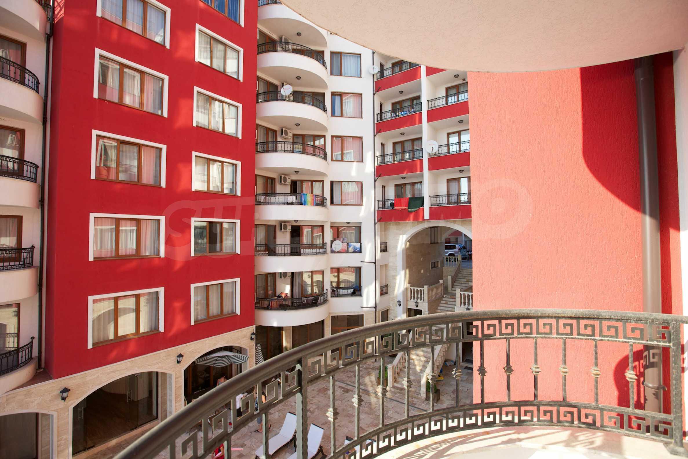 Apartment mit zwei Schlafzimmern in einem luxuriösen Aparthotel 37