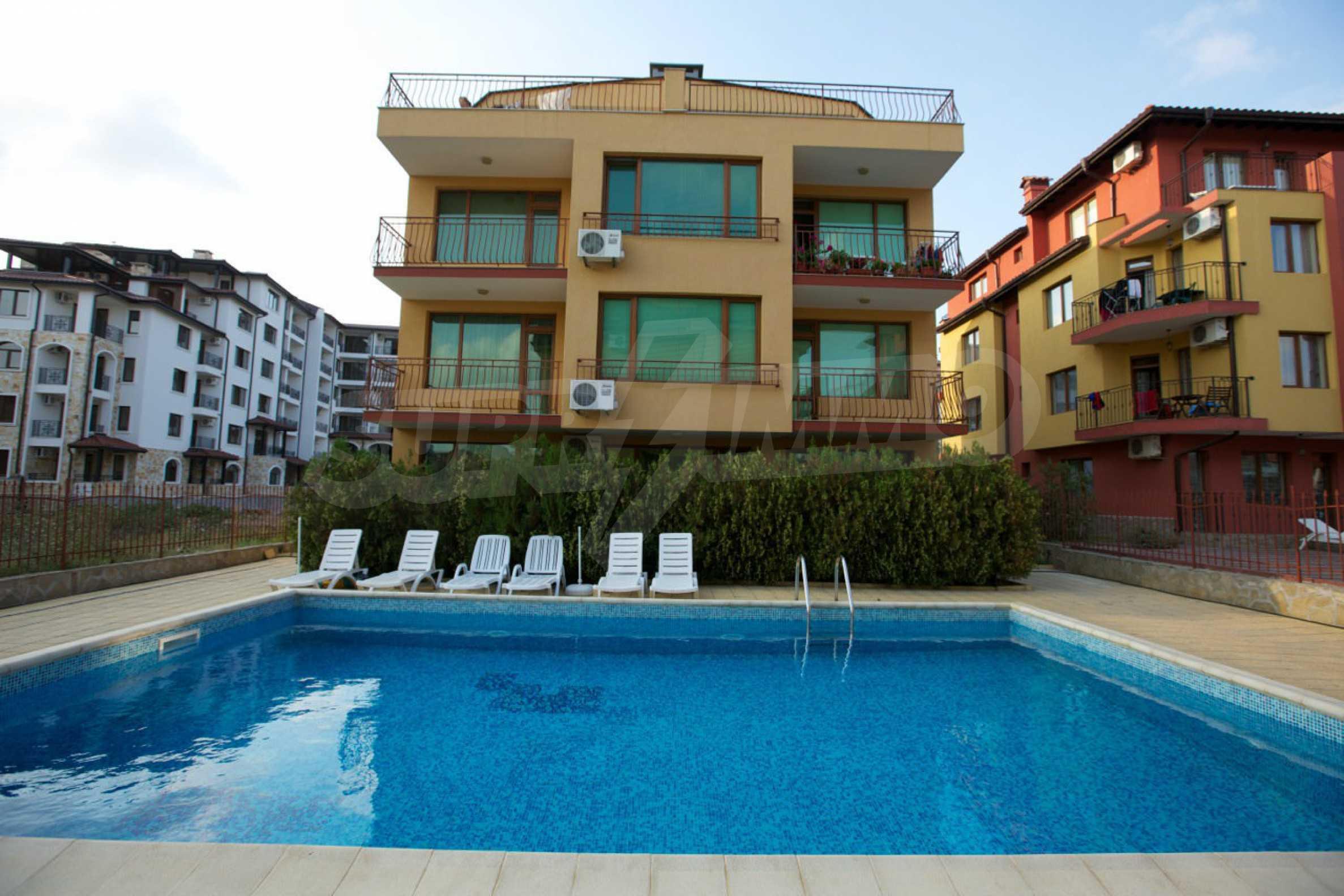 Möblierte Apartments mit einem Schlafzimmer in Ravda