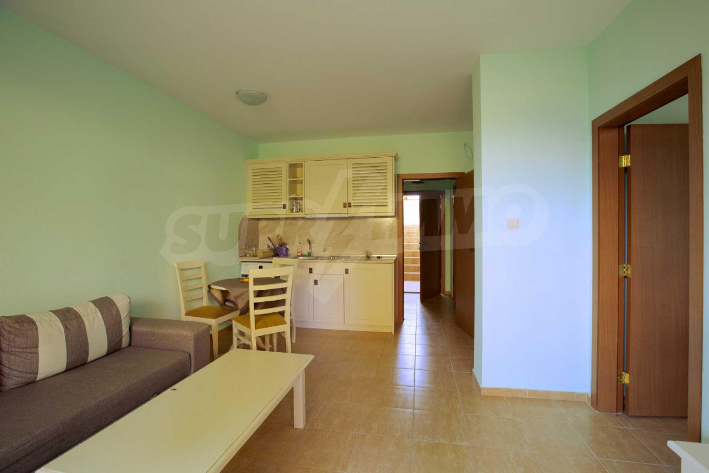 Möblierte Apartments mit einem Schlafzimmer in Ravda 4