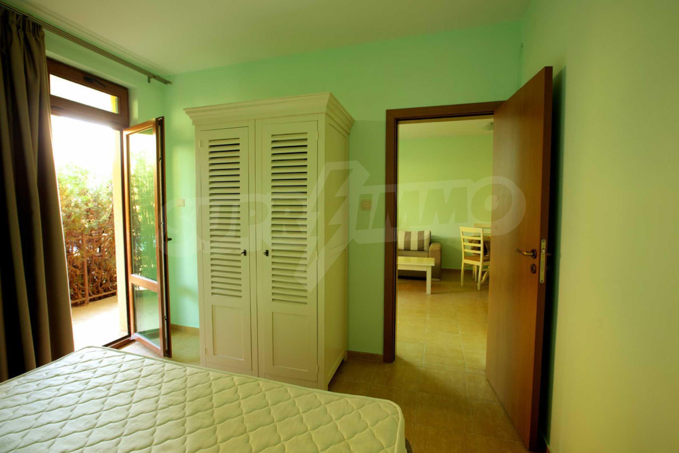Möblierte Apartments mit einem Schlafzimmer in Ravda 8