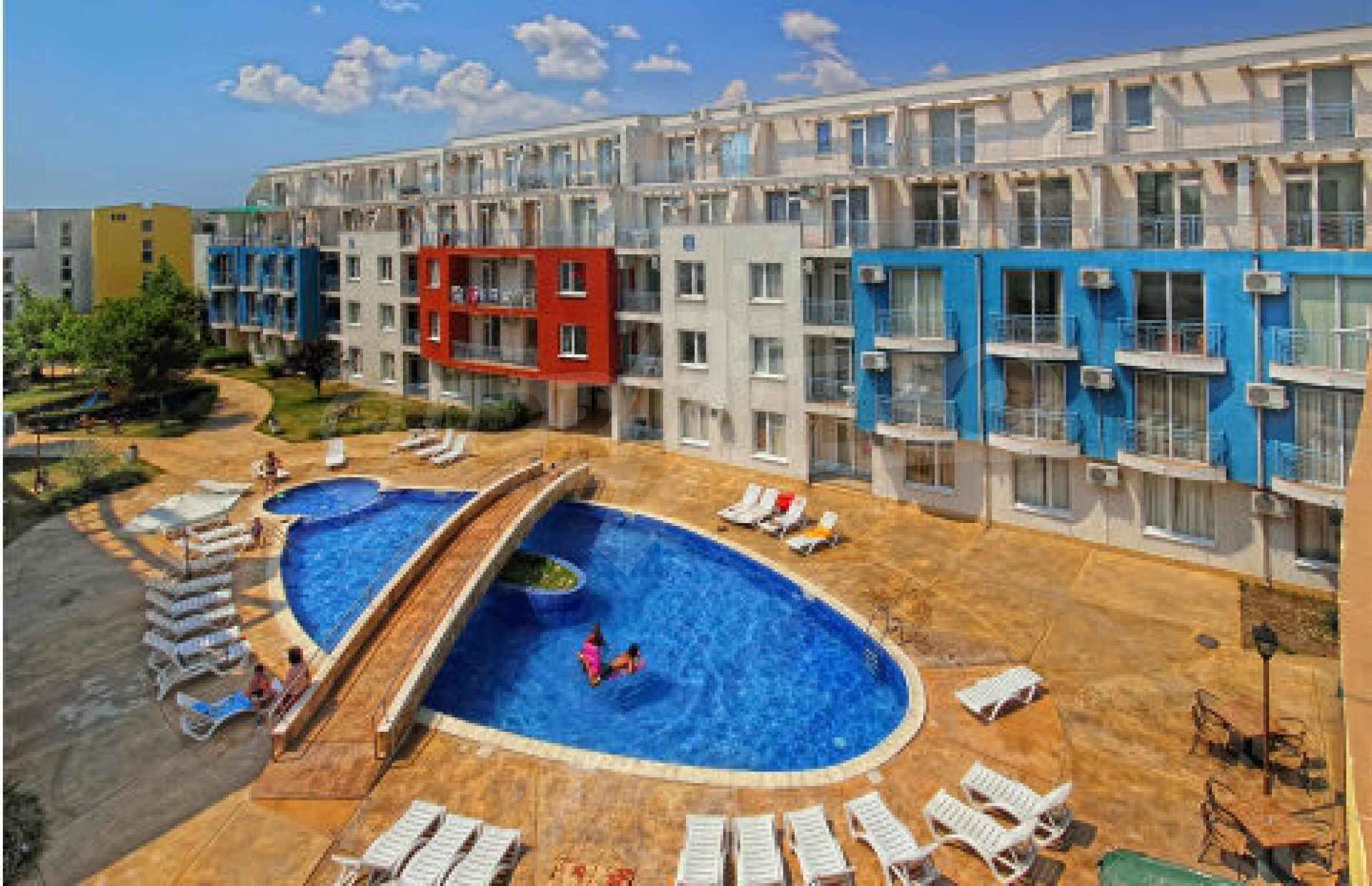 Geräumige Wohnung in einem modernen Komplex Sunny Day 3 14