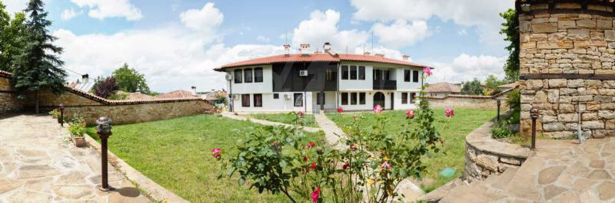 Fully equipped hotel, a restaurant, a house and a yard in the center of popular Arbanassi village 50