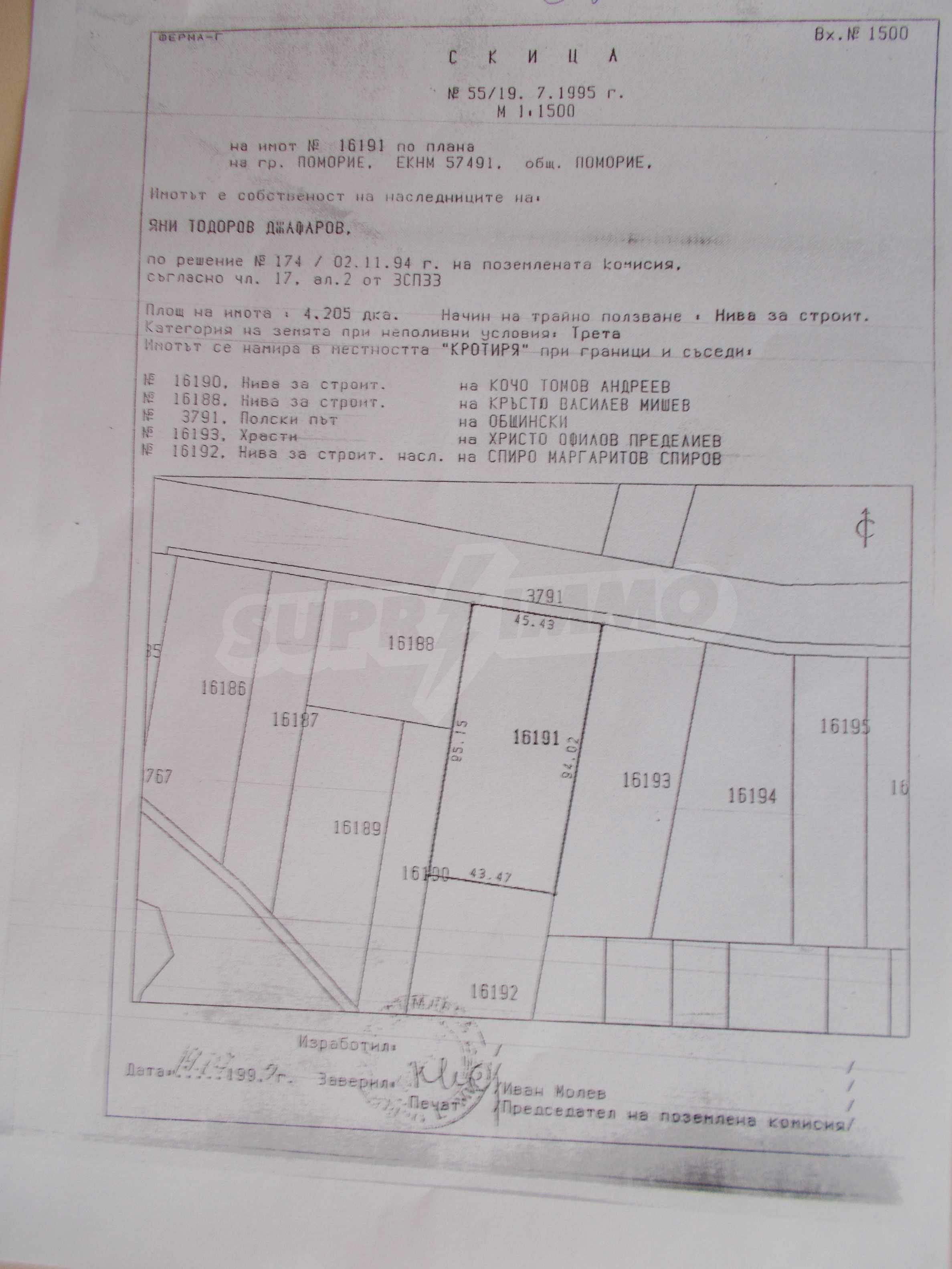 Grundstücke zum Verkauf in Pomorie 9