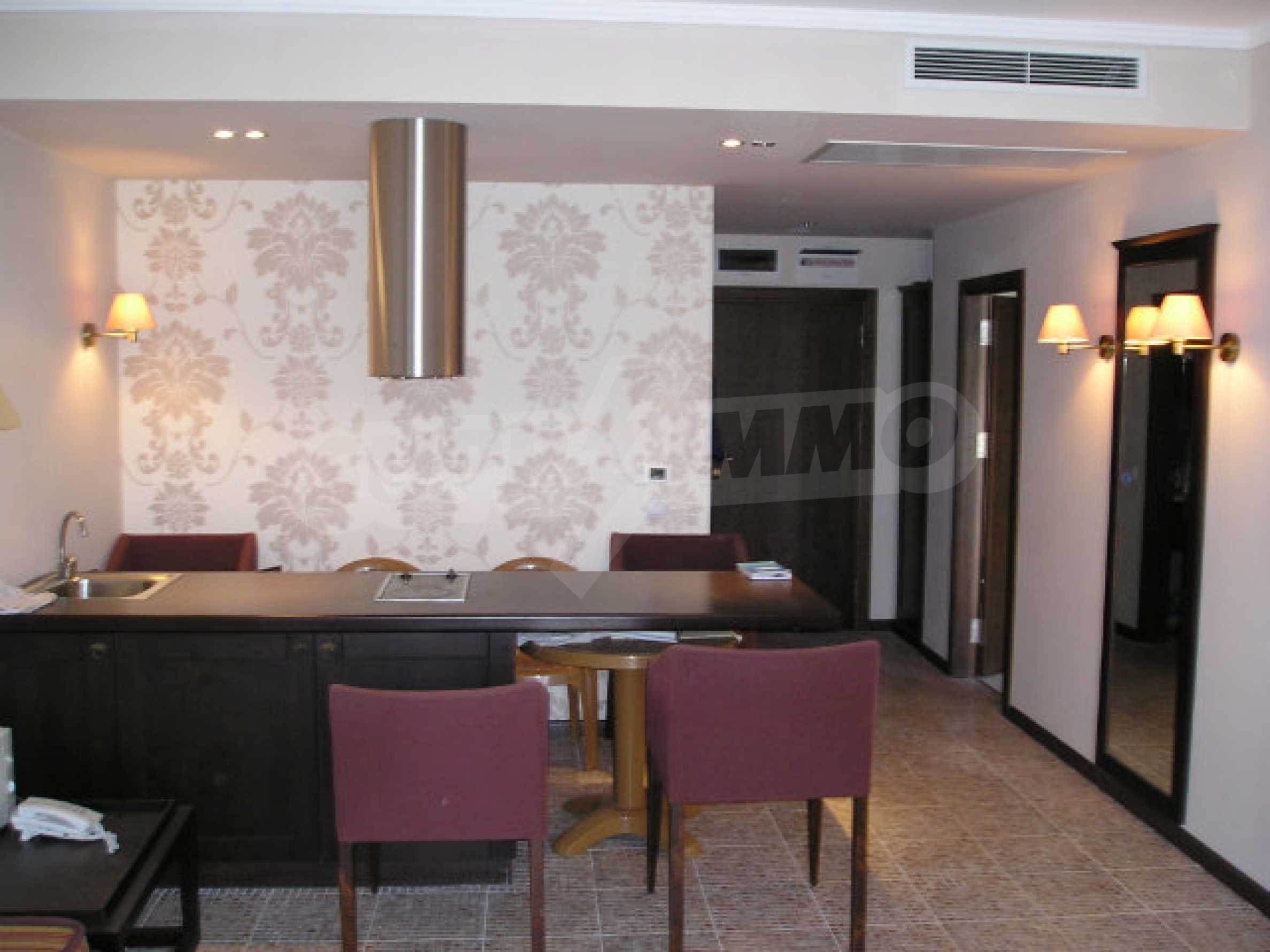 One-bedroom apartment in Royal Beach Barcelo complex in Sunny Beach 12