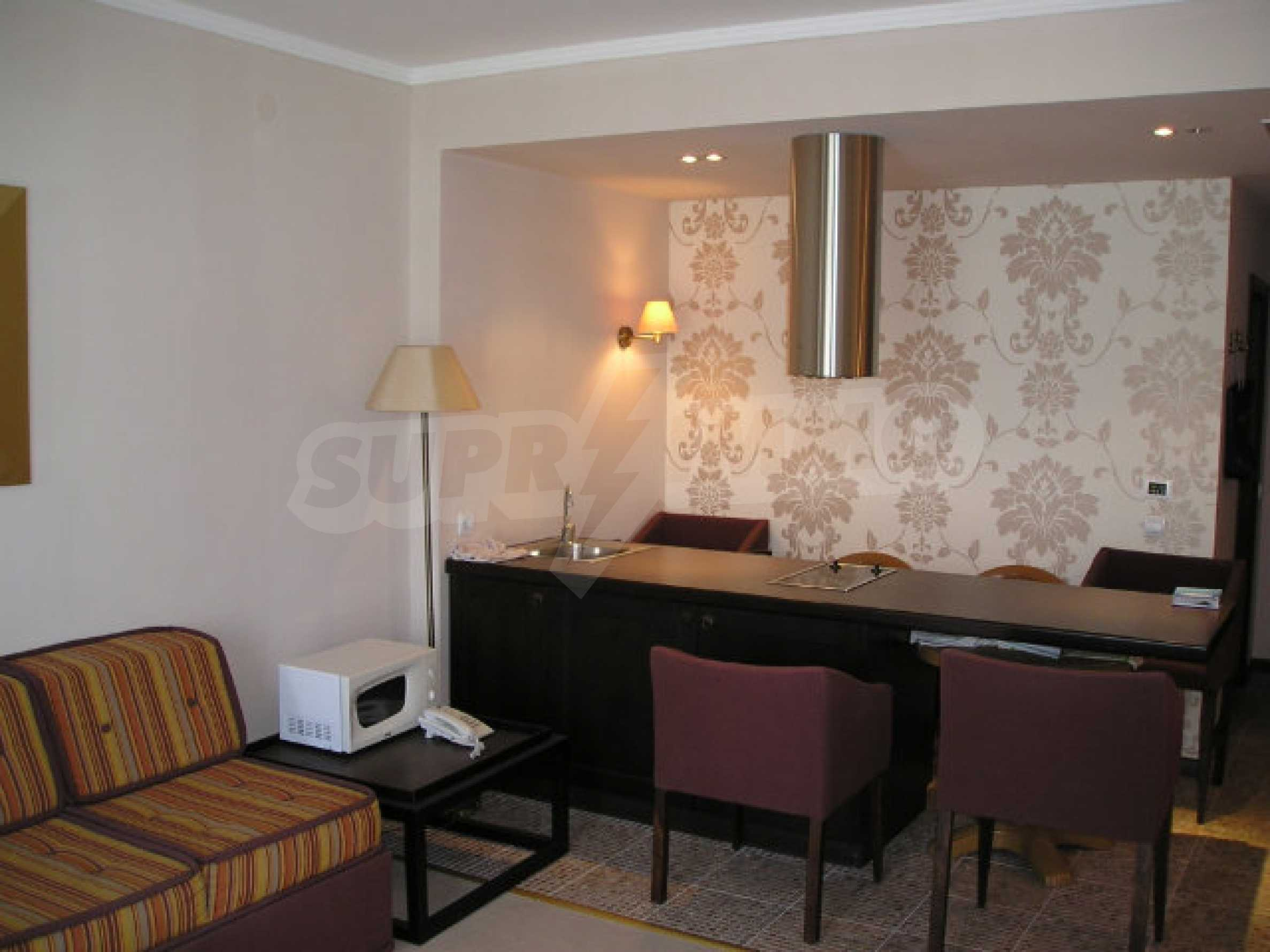 One-bedroom apartment in Royal Beach Barcelo complex in Sunny Beach 13