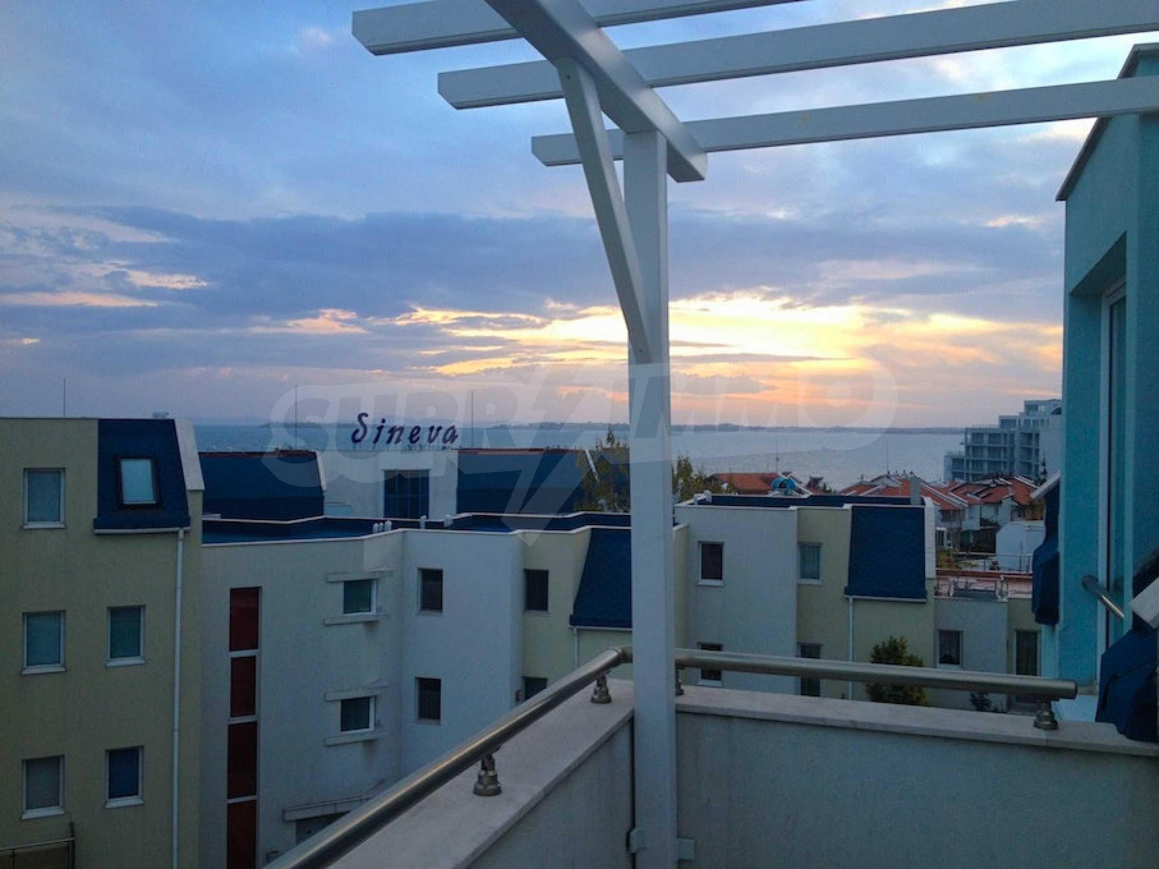 Zwei-Zimmer-Wohnung in einem Komplex 50 Meter vom Meer entfernt 13