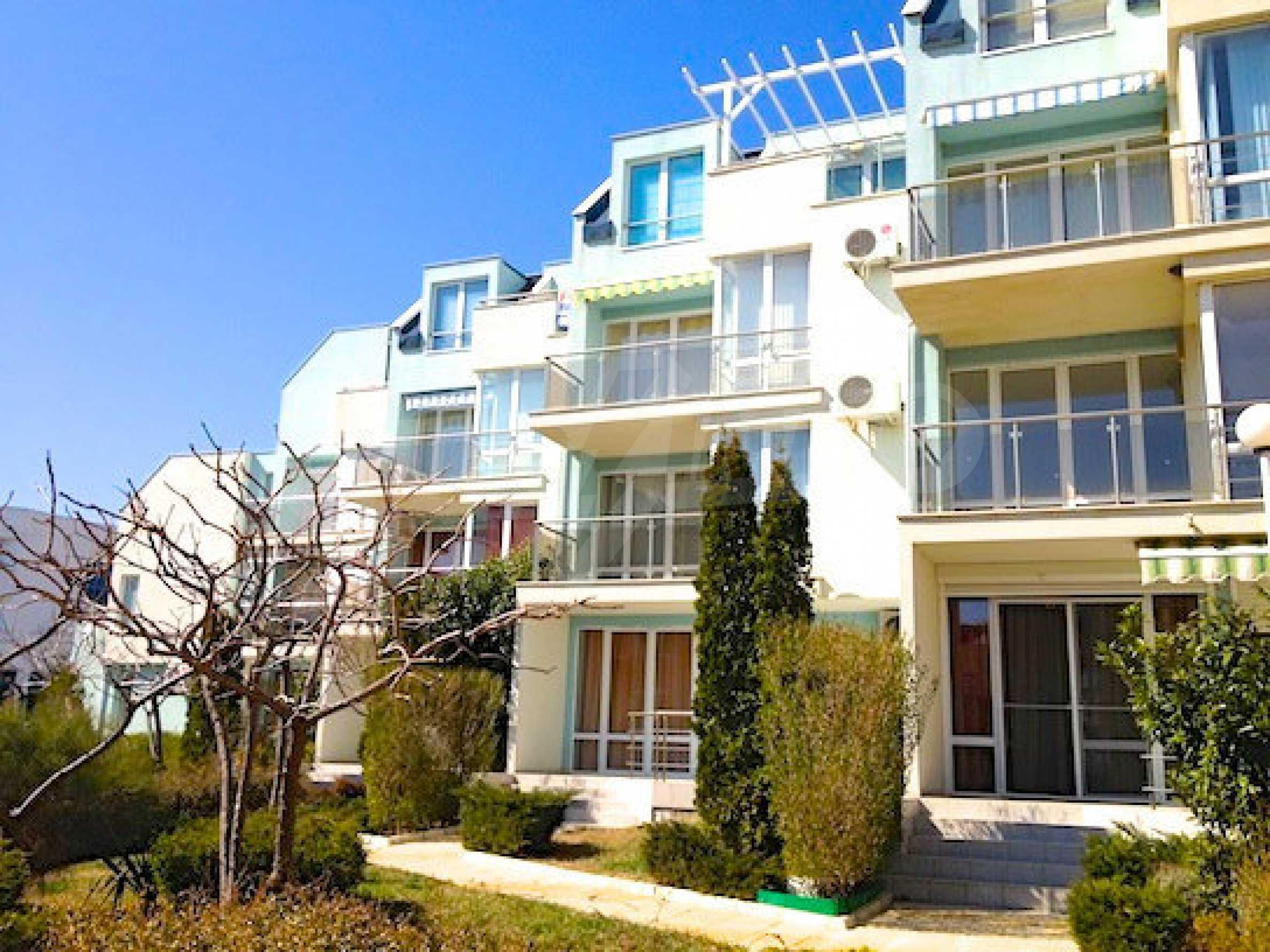 Zwei-Zimmer-Wohnung in einem Komplex 50 Meter vom Meer entfernt 14