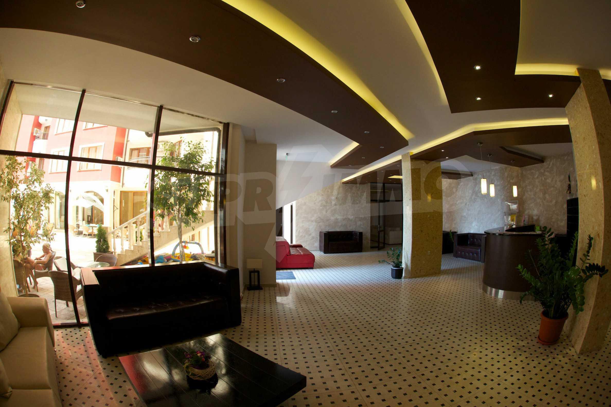 Möblierte Wohnung mit einem Schlafzimmer in Rich Komplex 23